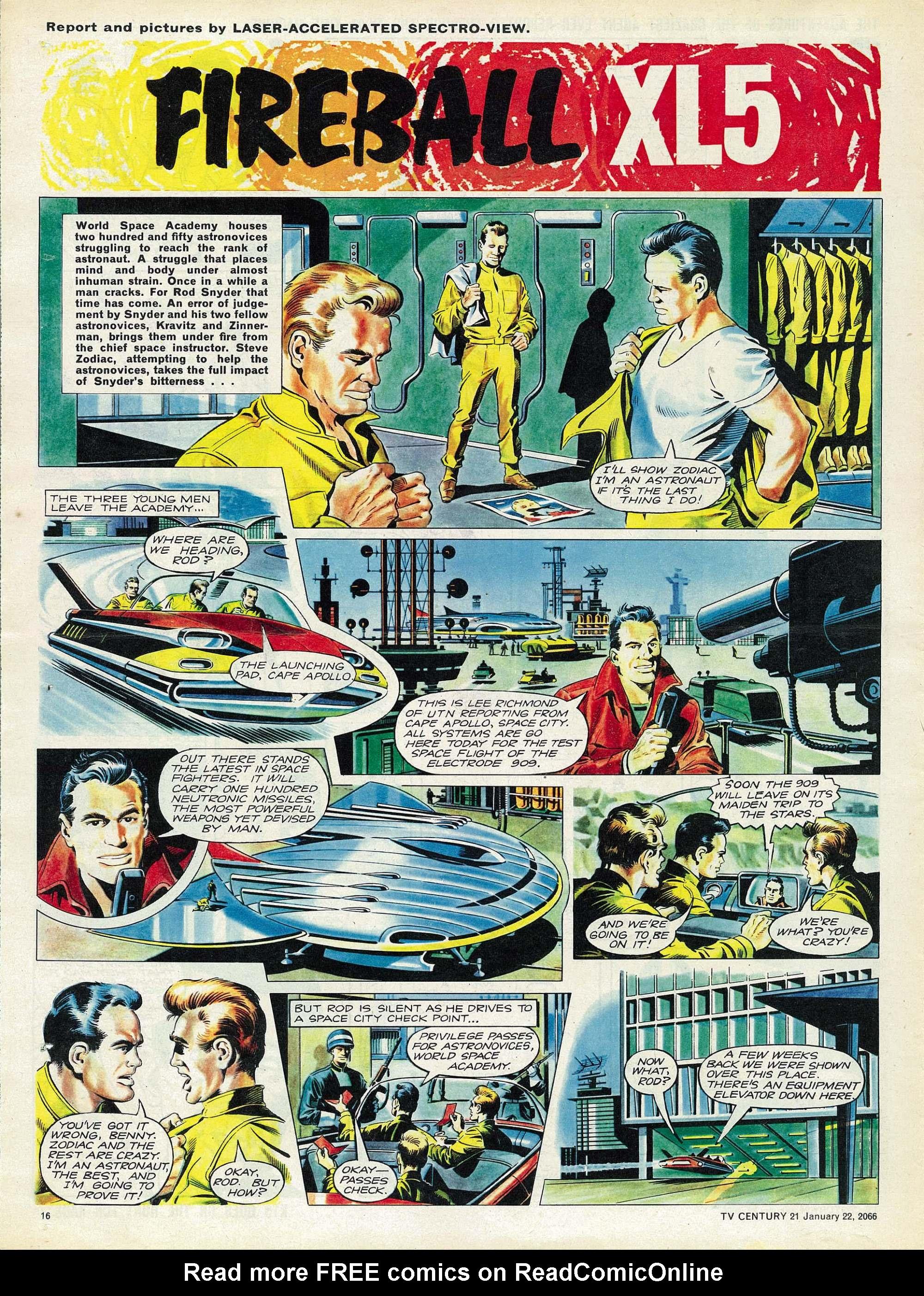 Read online TV Century 21 (TV 21) comic -  Issue #53 - 15