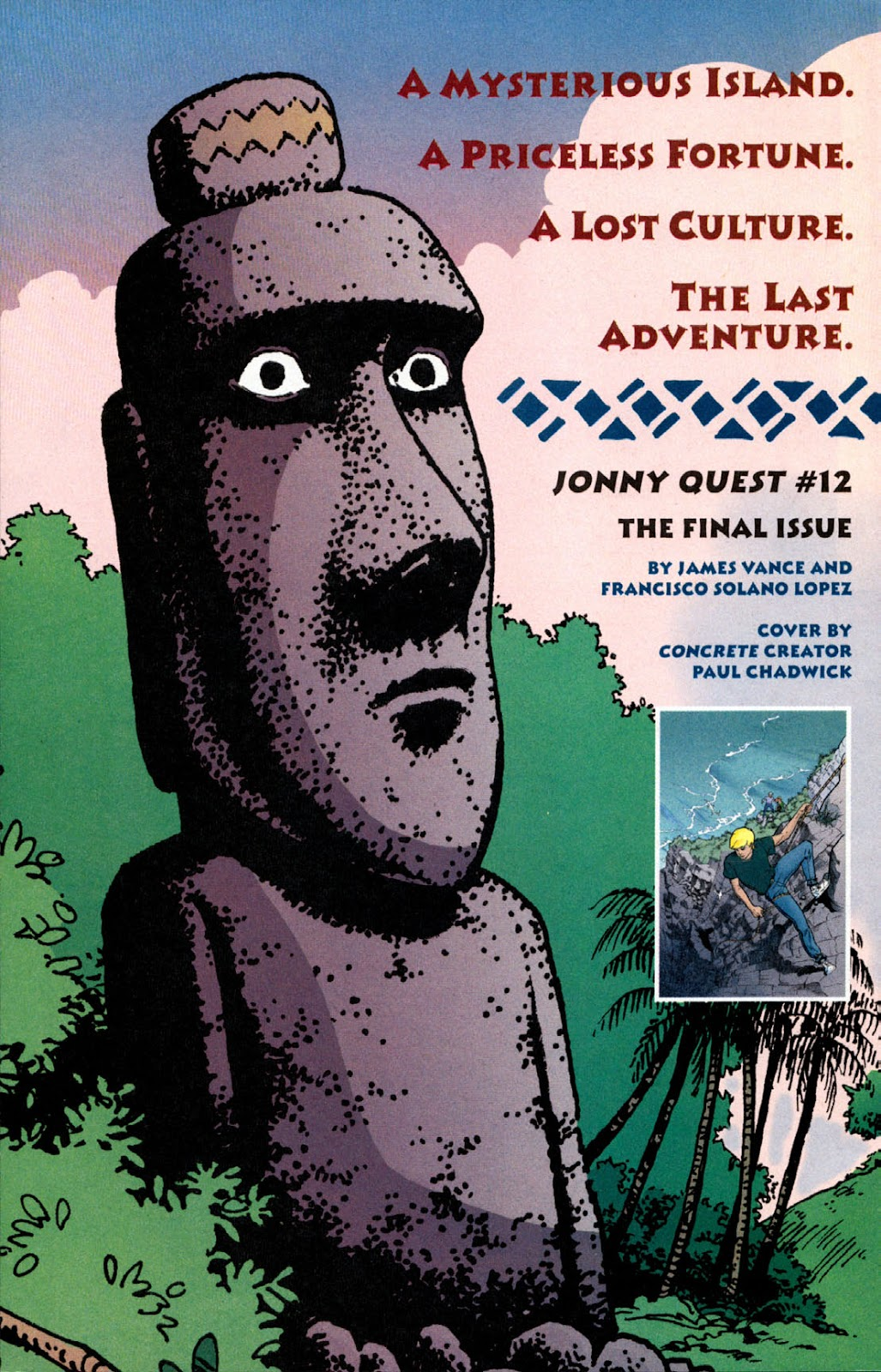 Read online The Real Adventures of Jonny Quest comic -  Issue #11 - 32