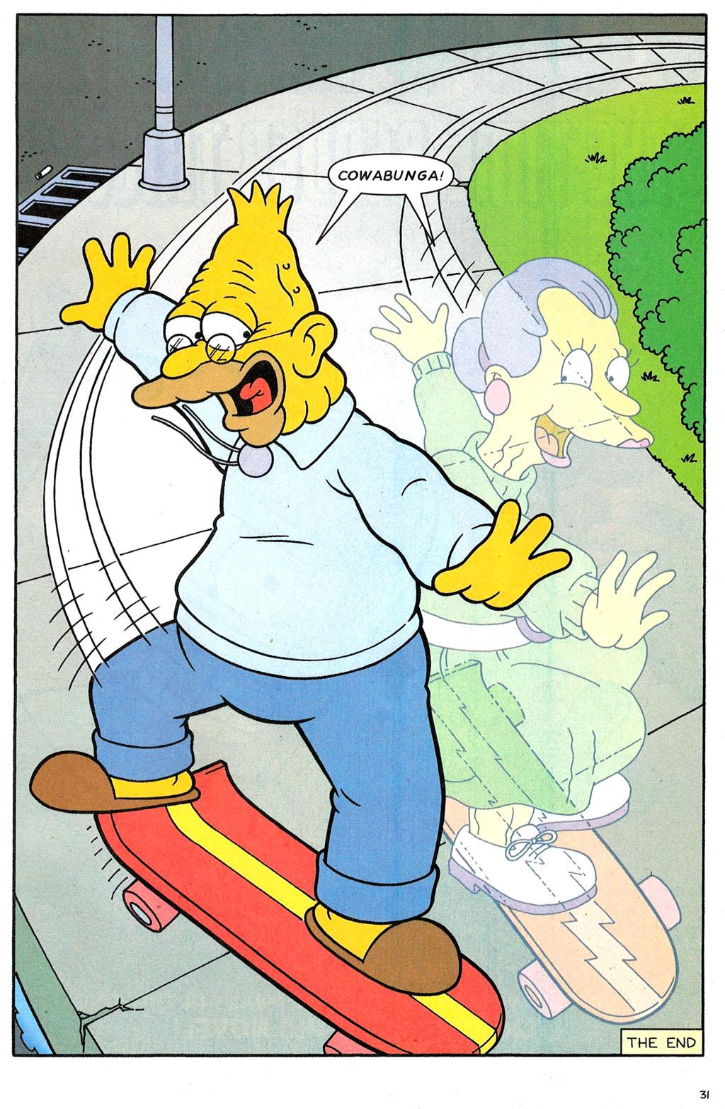 Read online Simpsons Comics comic -  Issue #118 - 26