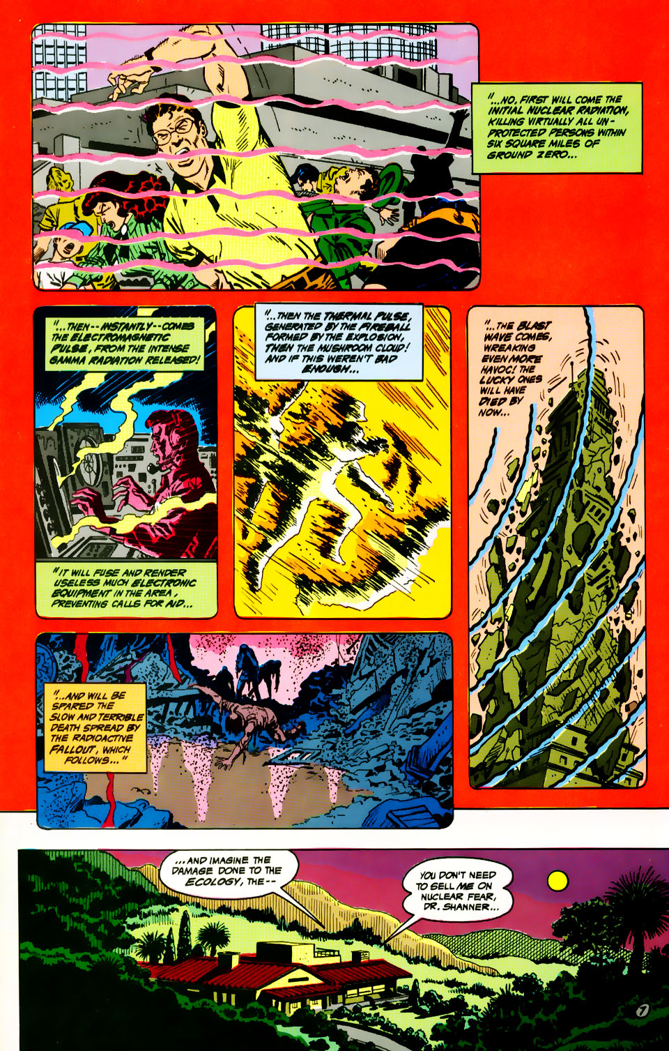 Read online Adventures of the Outsiders comic -  Issue #39 - 8