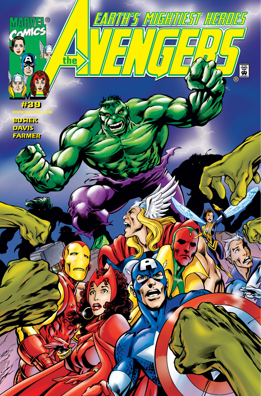 Read online Avengers (1998) comic -  Issue #39 - 1