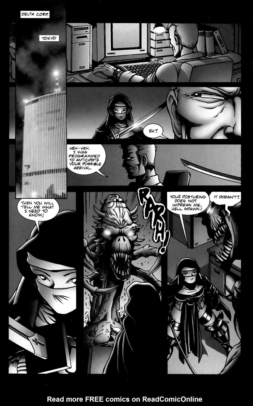 Warrior Nun Areala:  Dangerous Game Issue #3 #3 - English 29