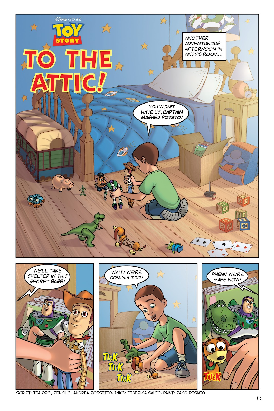 Read online DISNEY·PIXAR Toy Story Adventures comic -  Issue # TPB 1 (Part 2) - 13