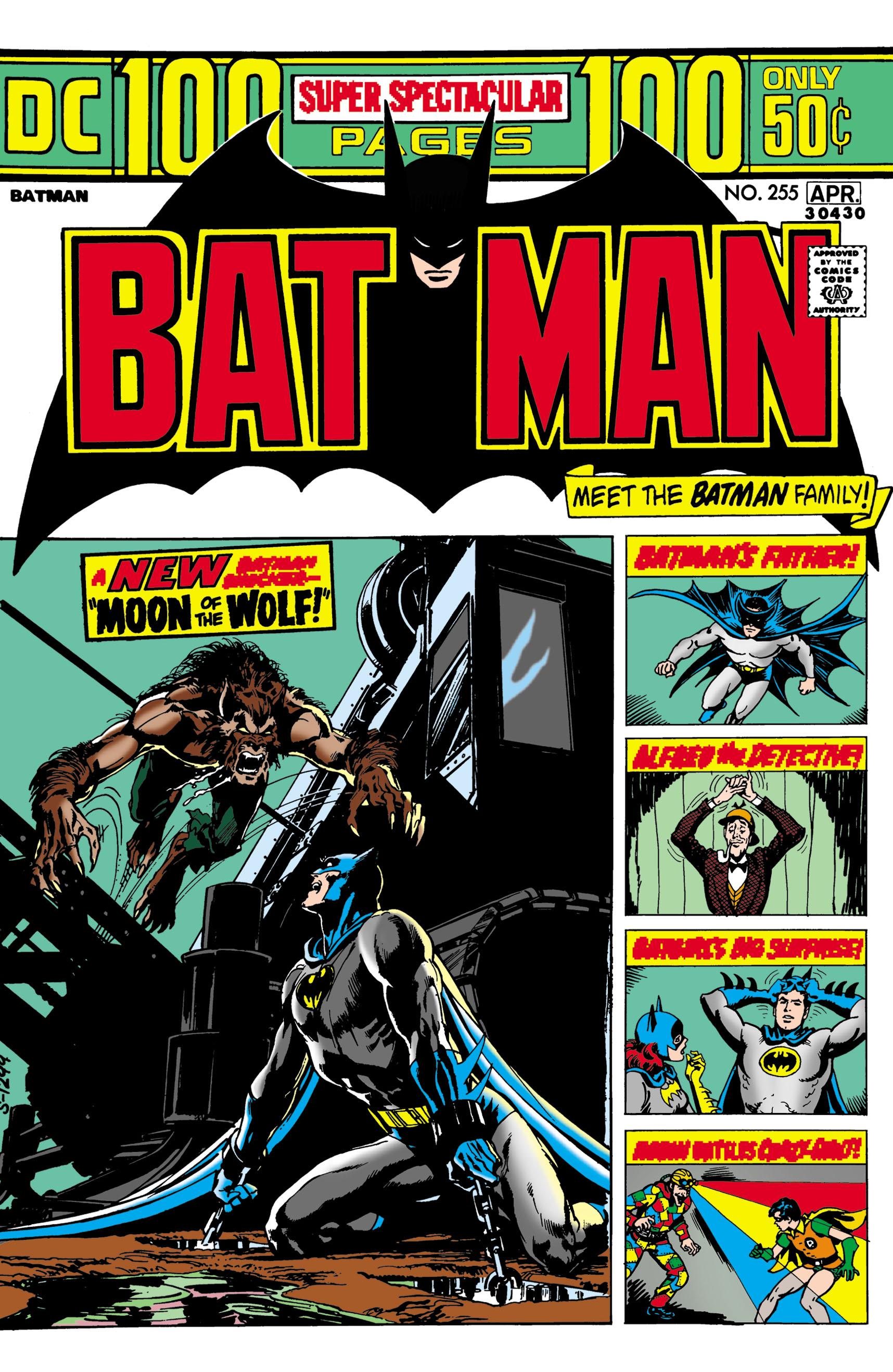 Batman (1940) 255 Page 1