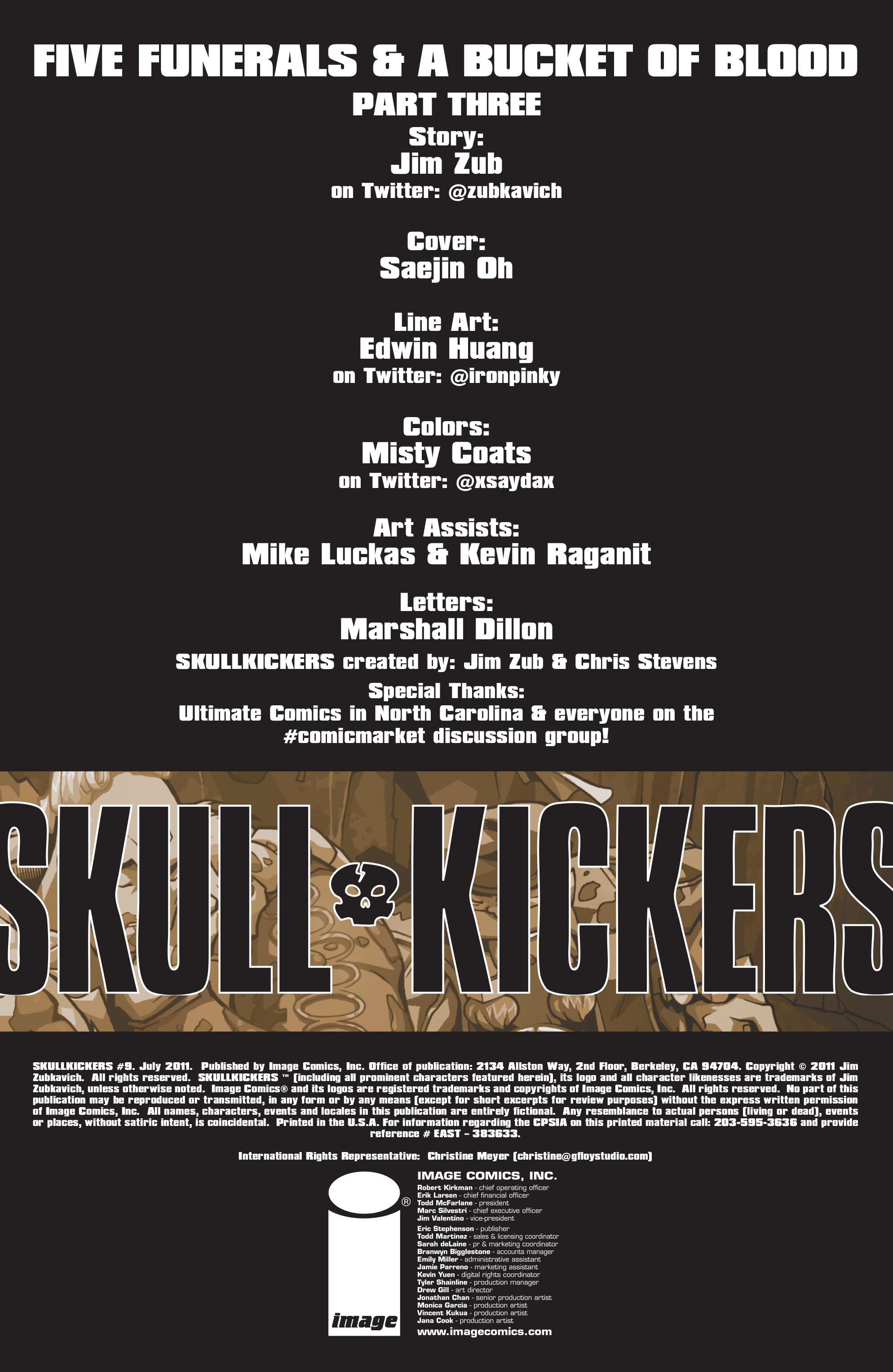 Read online Skullkickers comic -  Issue #9 - 2
