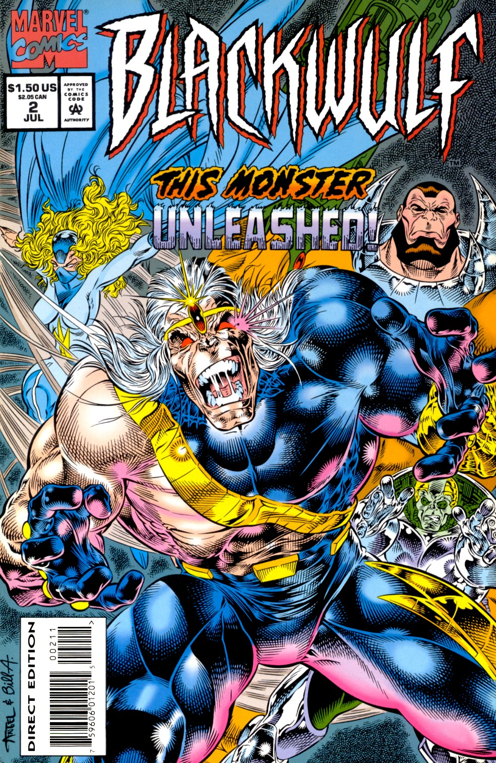 Read online Blackwulf comic -  Issue #2 - 1