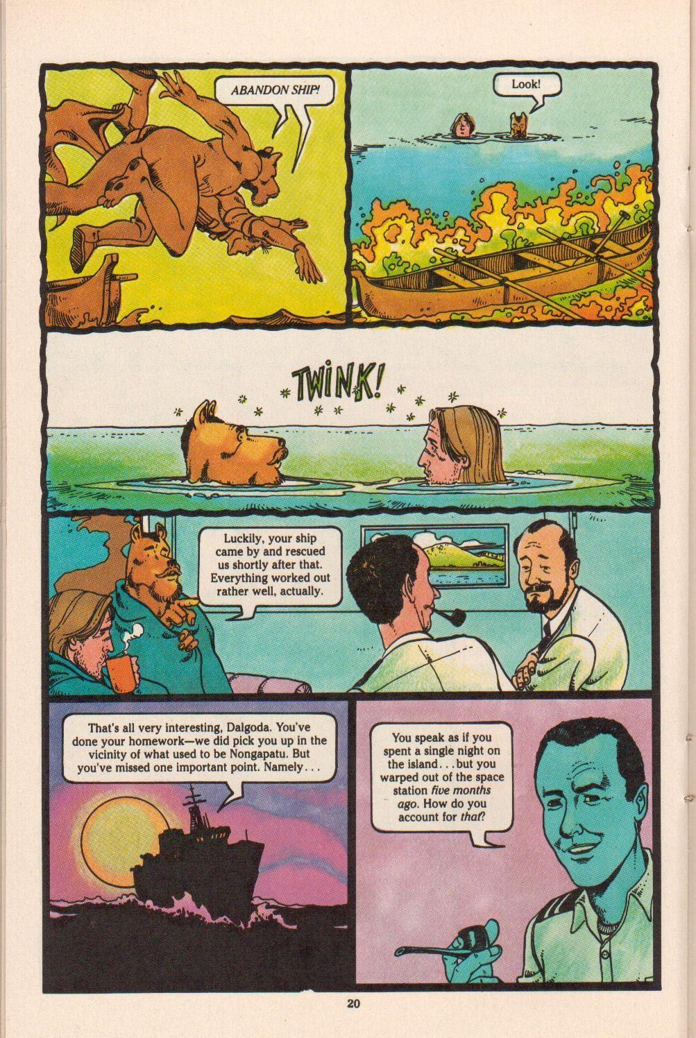 Read online Dalgoda comic -  Issue #4 - 22