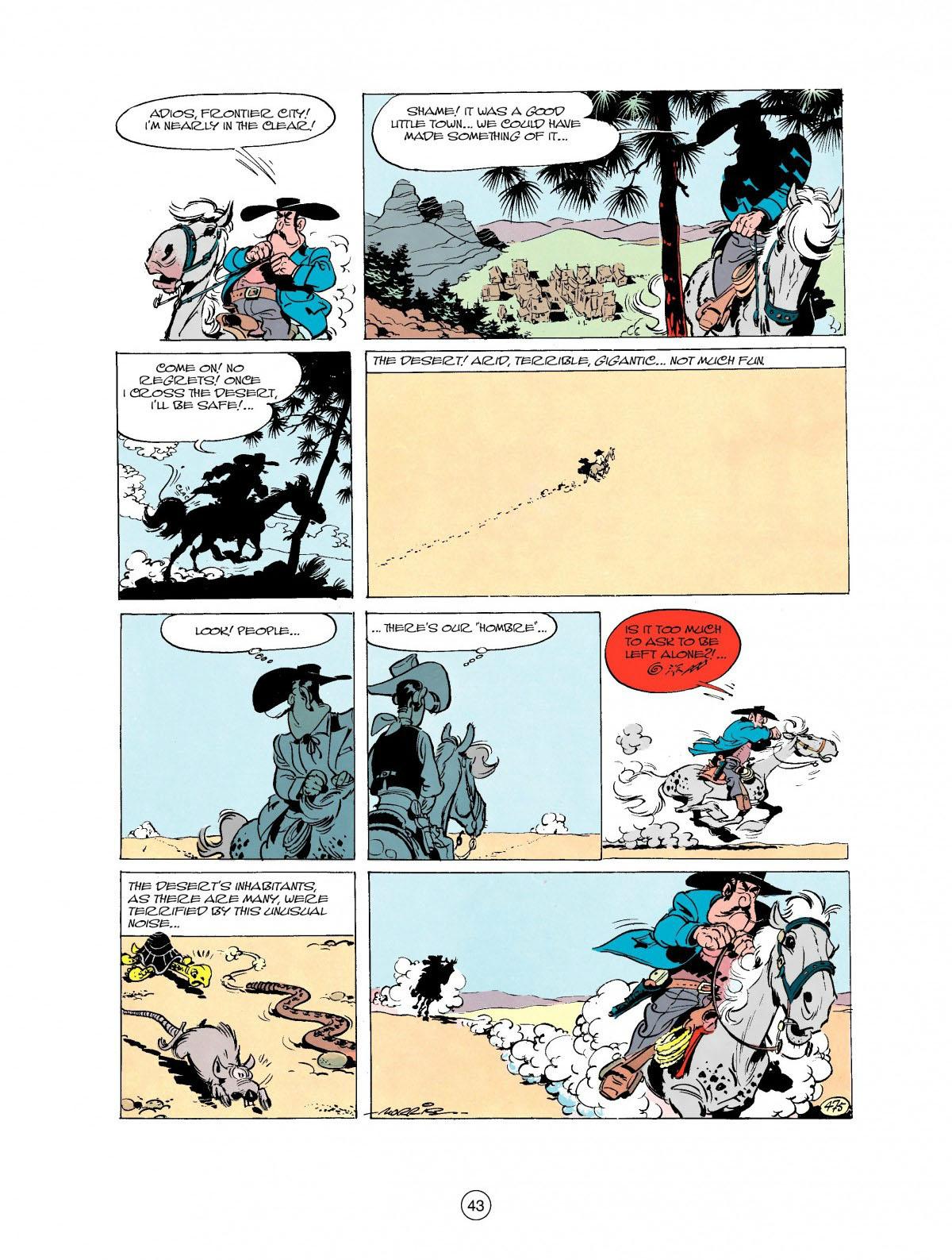 Read online A Lucky Luke Adventure comic -  Issue #27 - 44