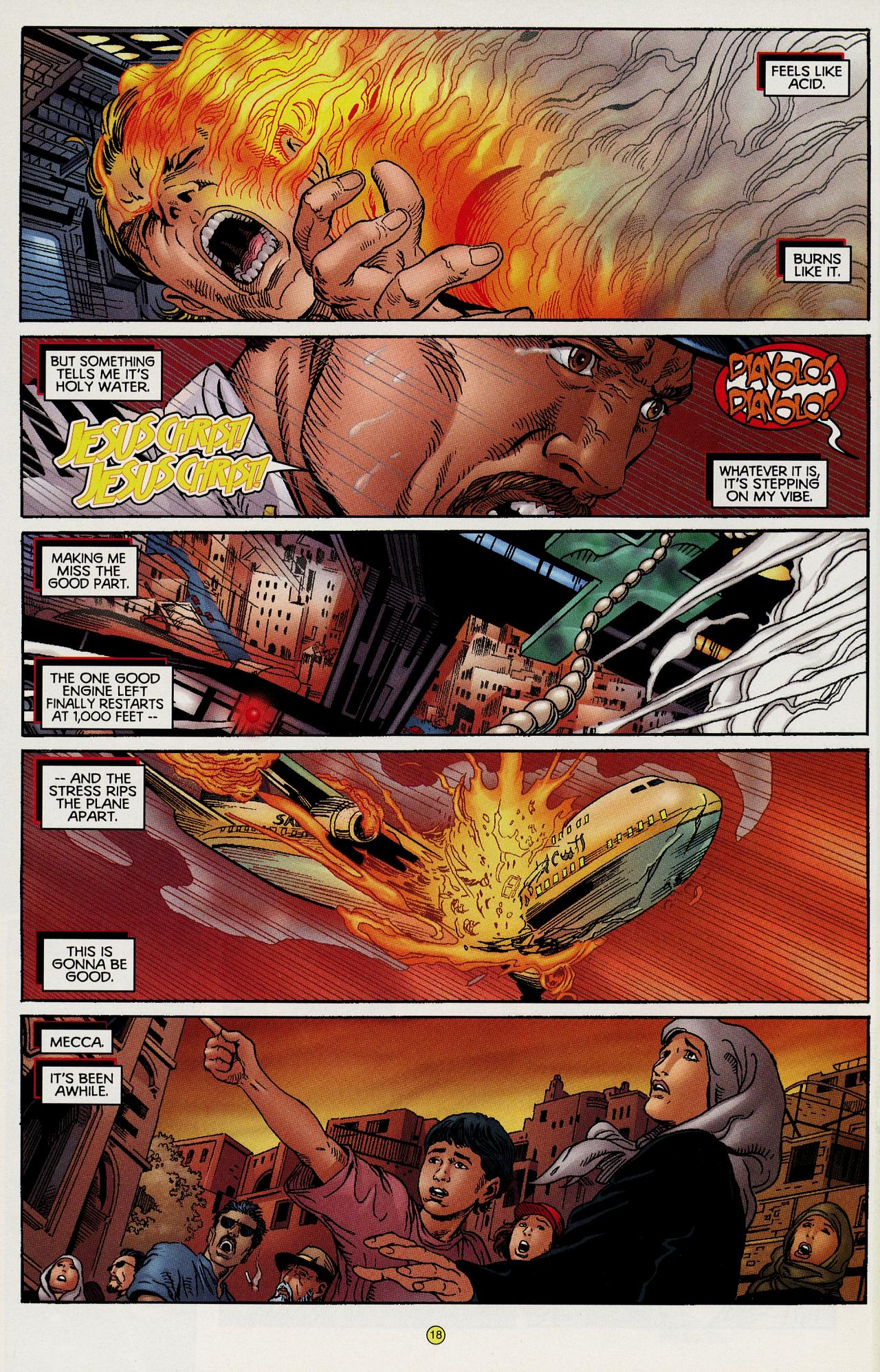 Read online Solar, Man of the Atom: Hell on Earth comic -  Issue #1 - 17