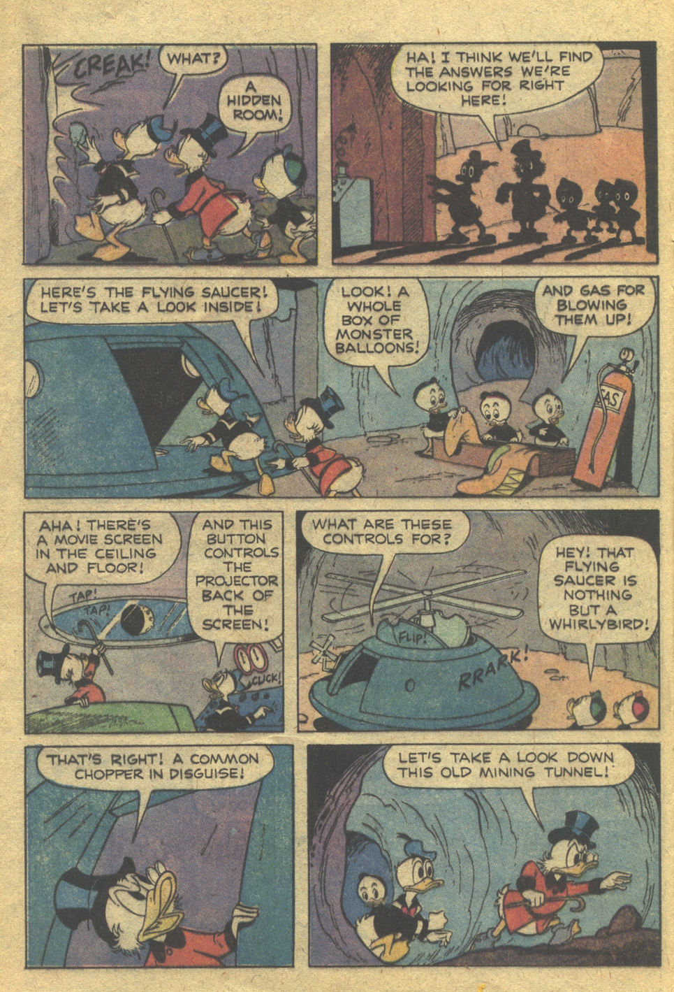 Read online Uncle Scrooge (1953) comic -  Issue #162 - 16