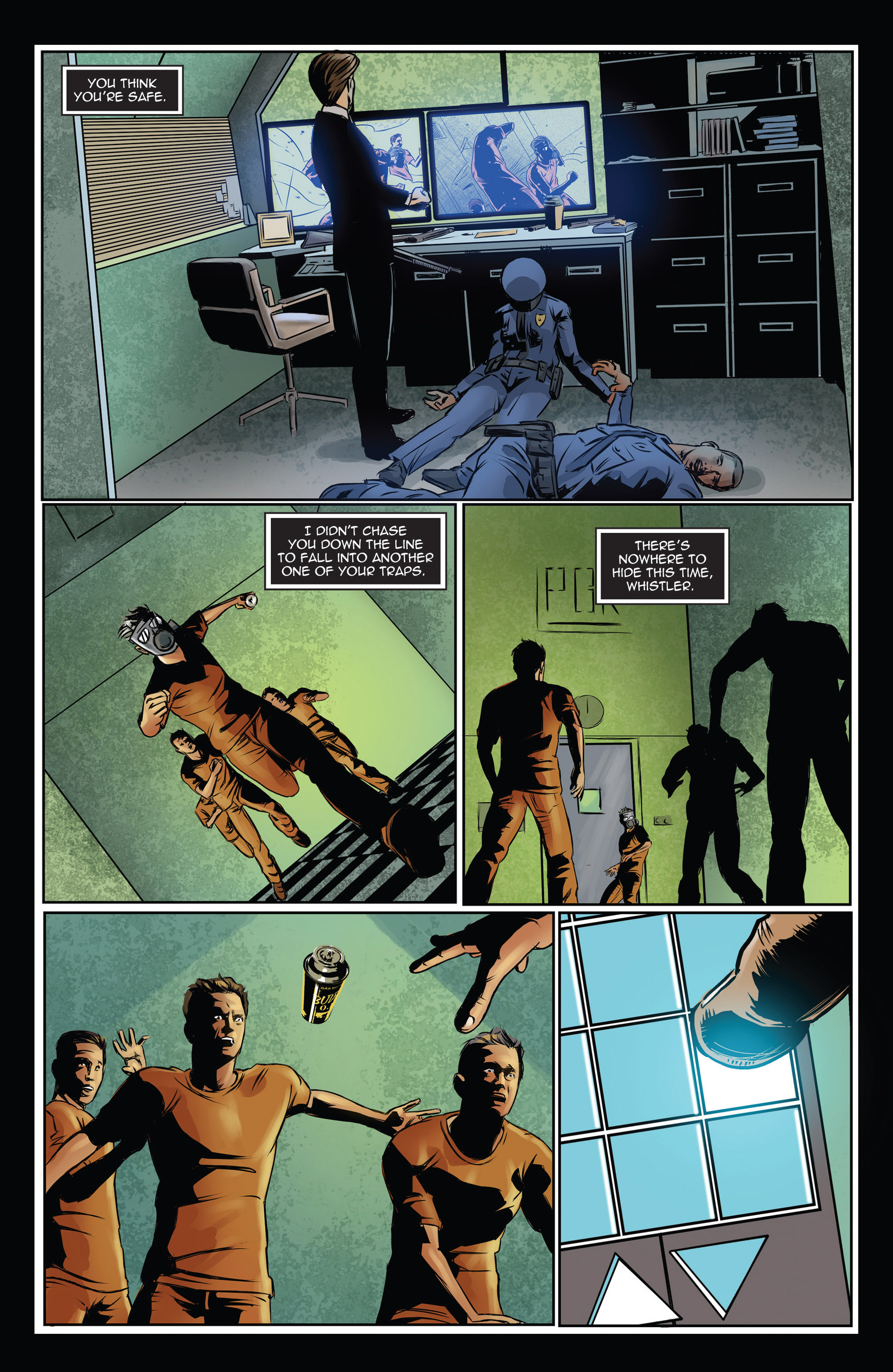 Read online Trancers comic -  Issue #3 - 21