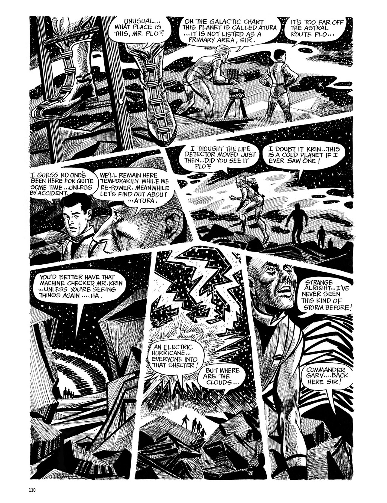 Read online Eerie Archives comic -  Issue # TPB 4 - 111