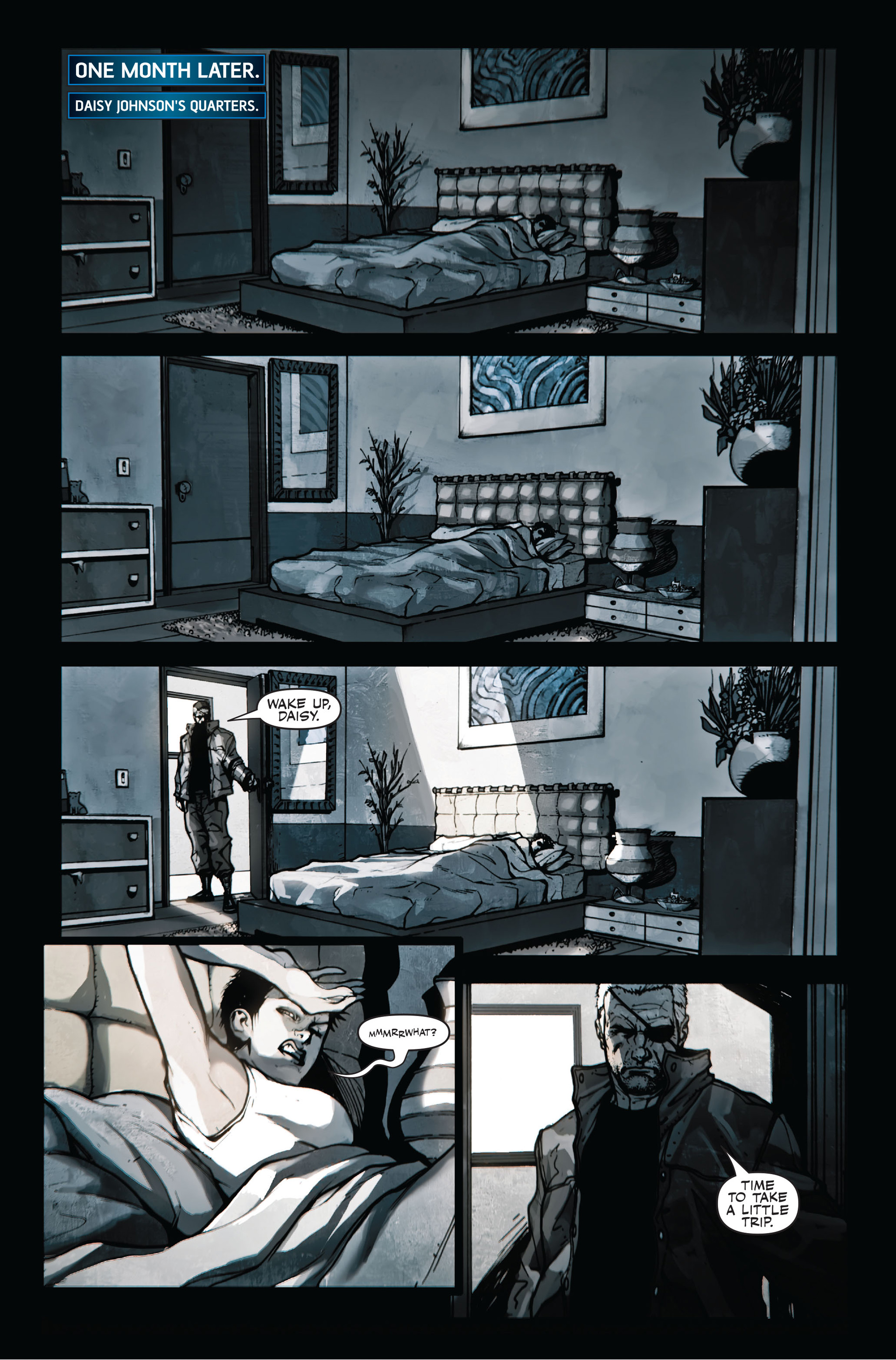 Read online Secret Warriors comic -  Issue #11 - 4