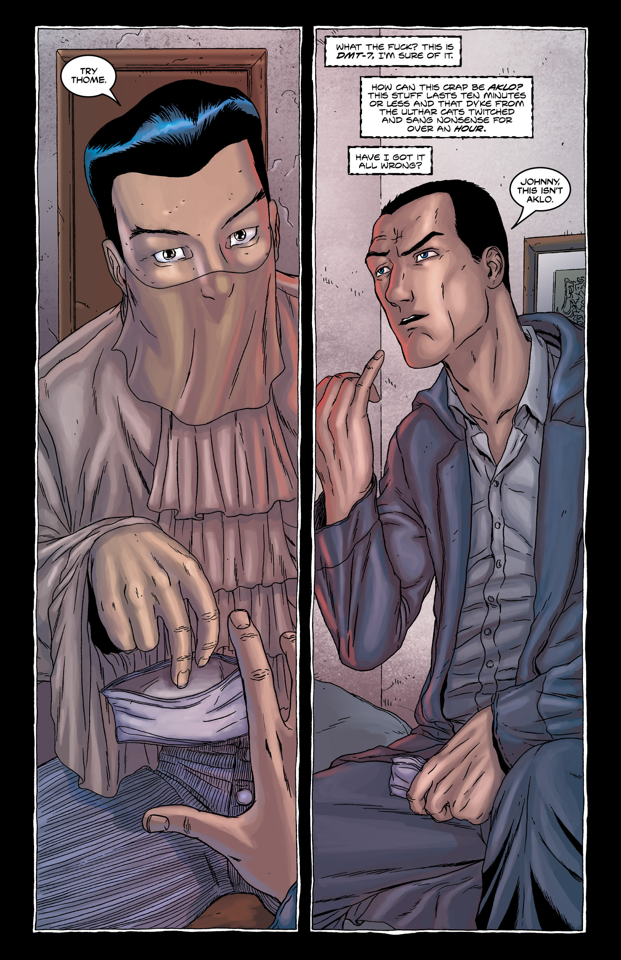 Read online Alan Moore's The Courtyard comic -  Issue # TPB - 39