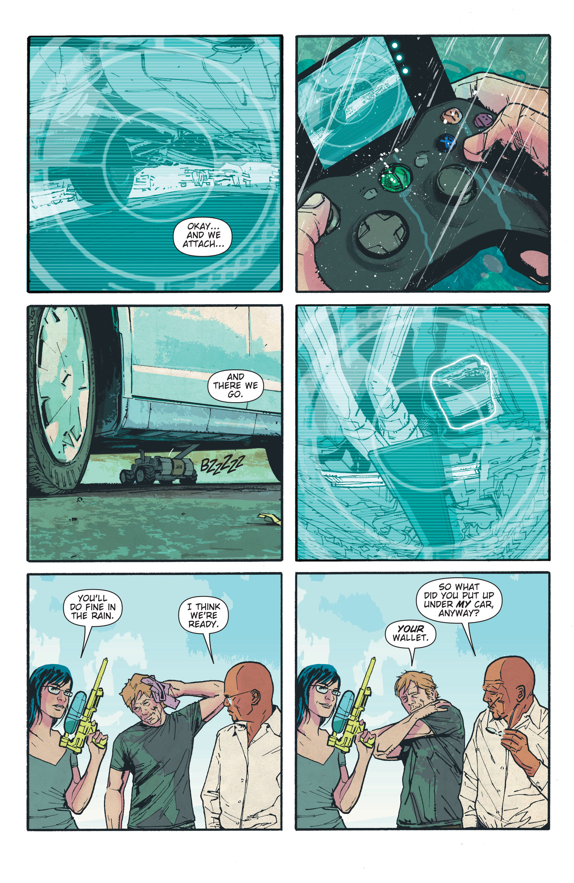 Read online The Activity comic -  Issue #4 - 8