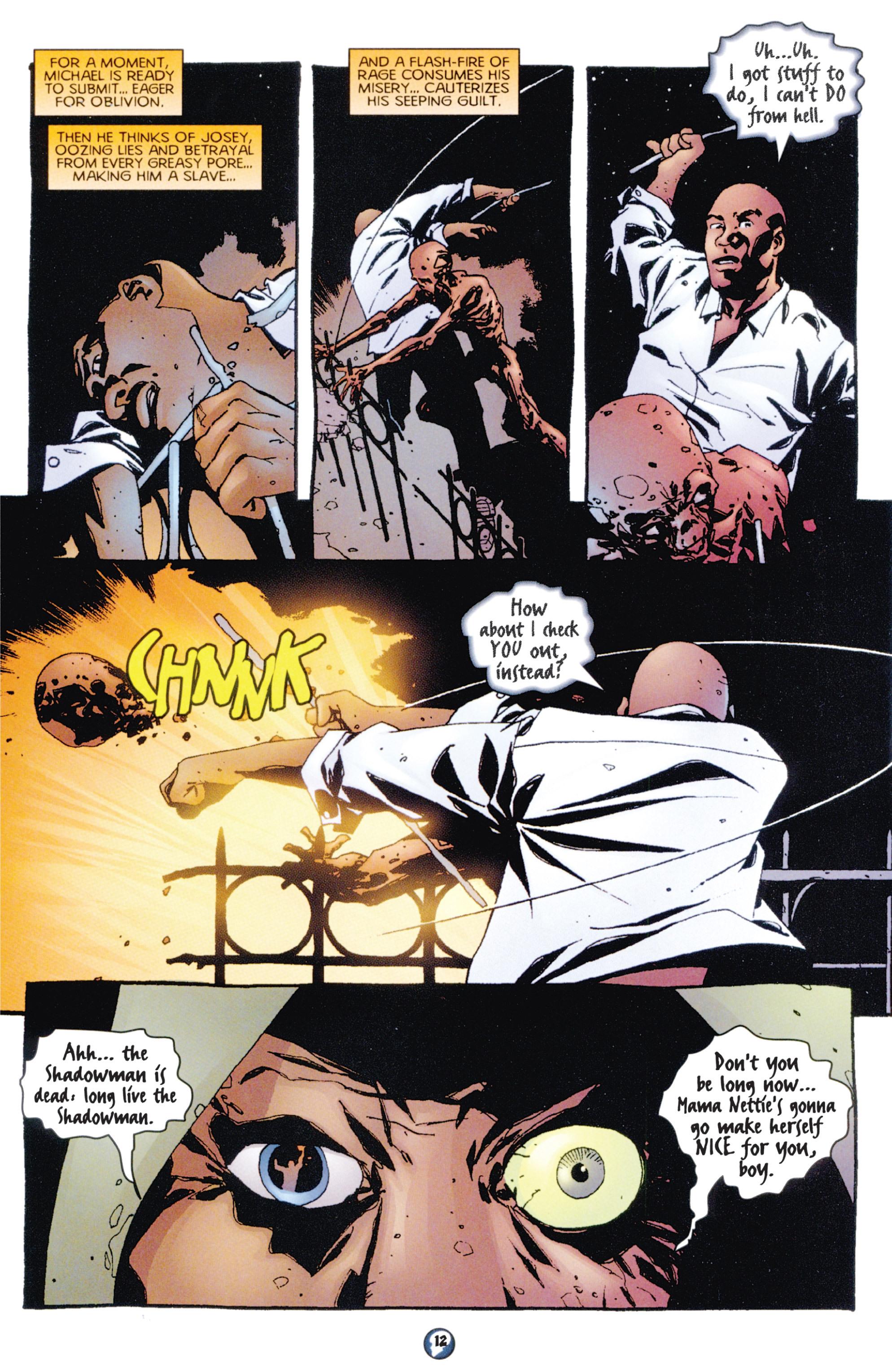 Read online Shadowman (1997) comic -  Issue #7 - 10