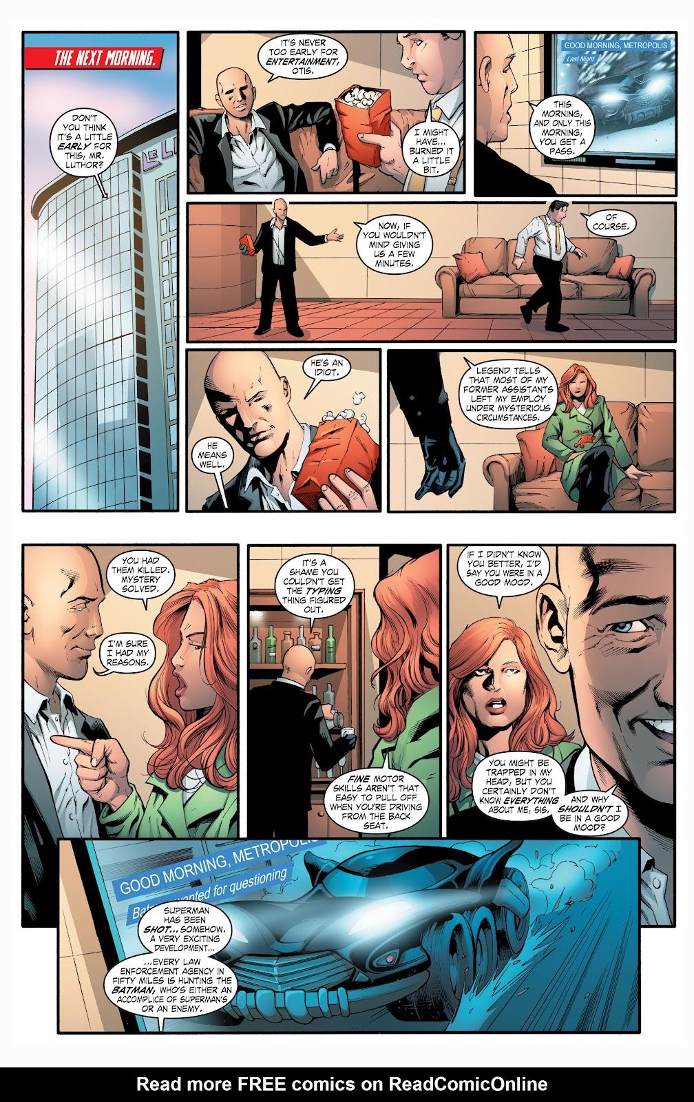 Read online Smallville Season 11 [II] comic -  Issue # TPB 2 - 103