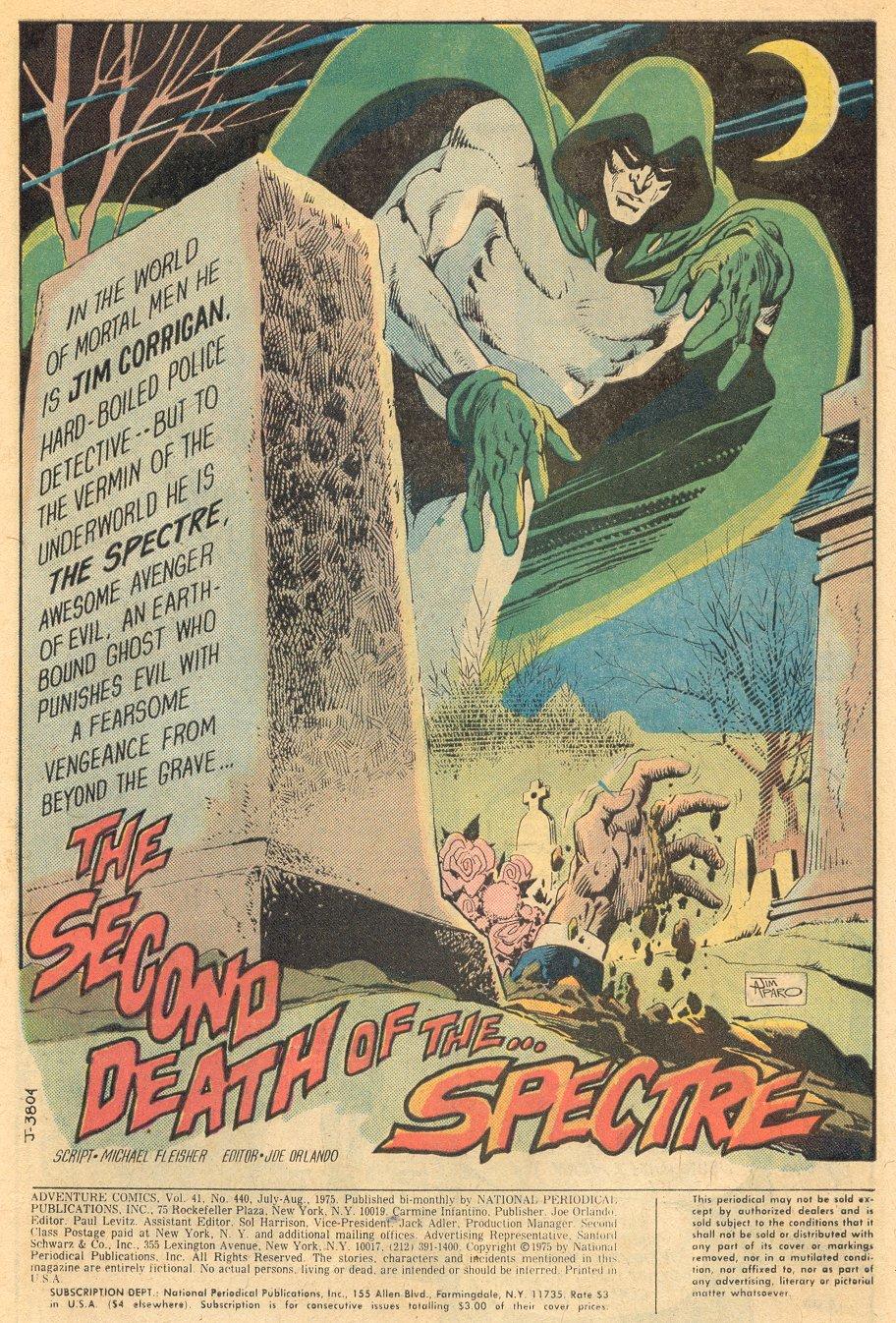 Read online Adventure Comics (1938) comic -  Issue #440 - 3