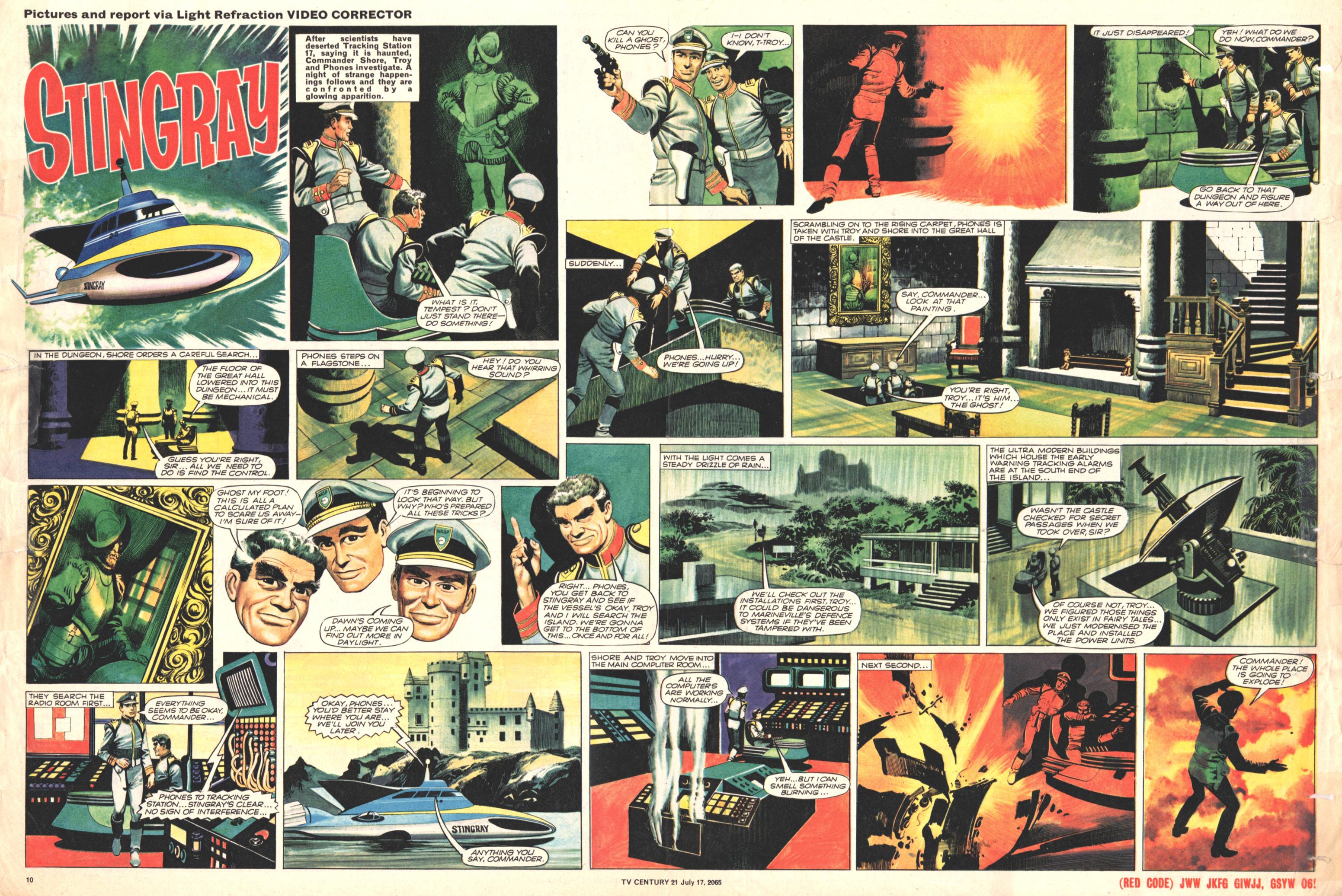 Read online TV Century 21 (TV 21) comic -  Issue #26 - 10