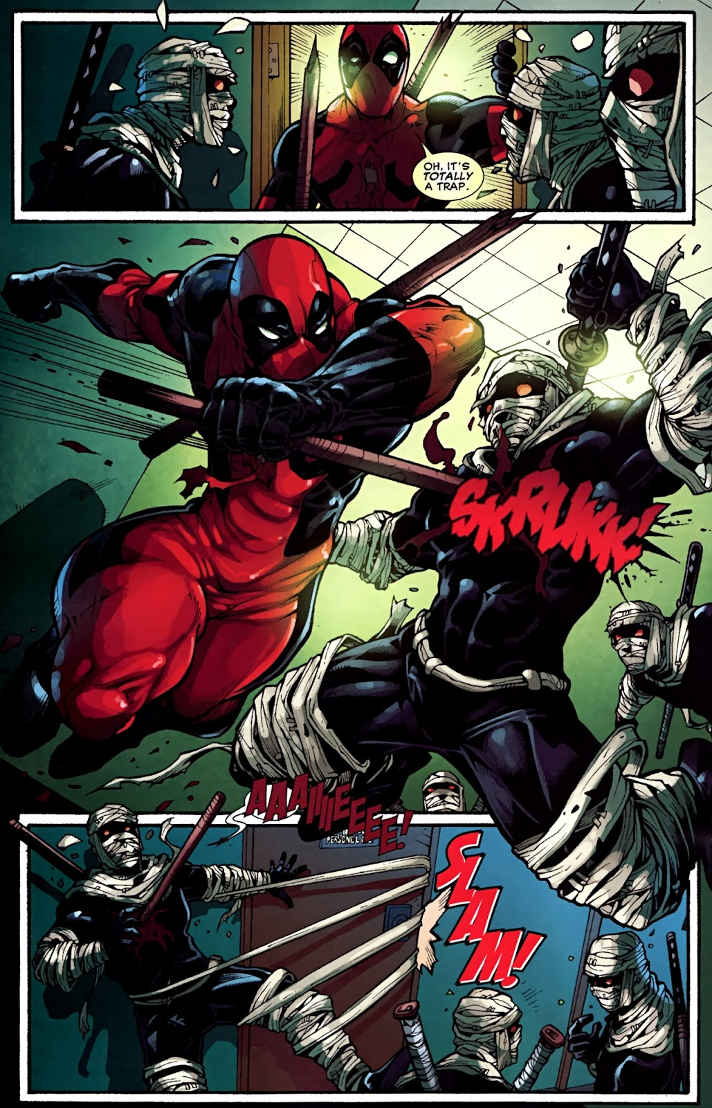 Read online Deadpool (2008) comic -  Issue #31 - 17