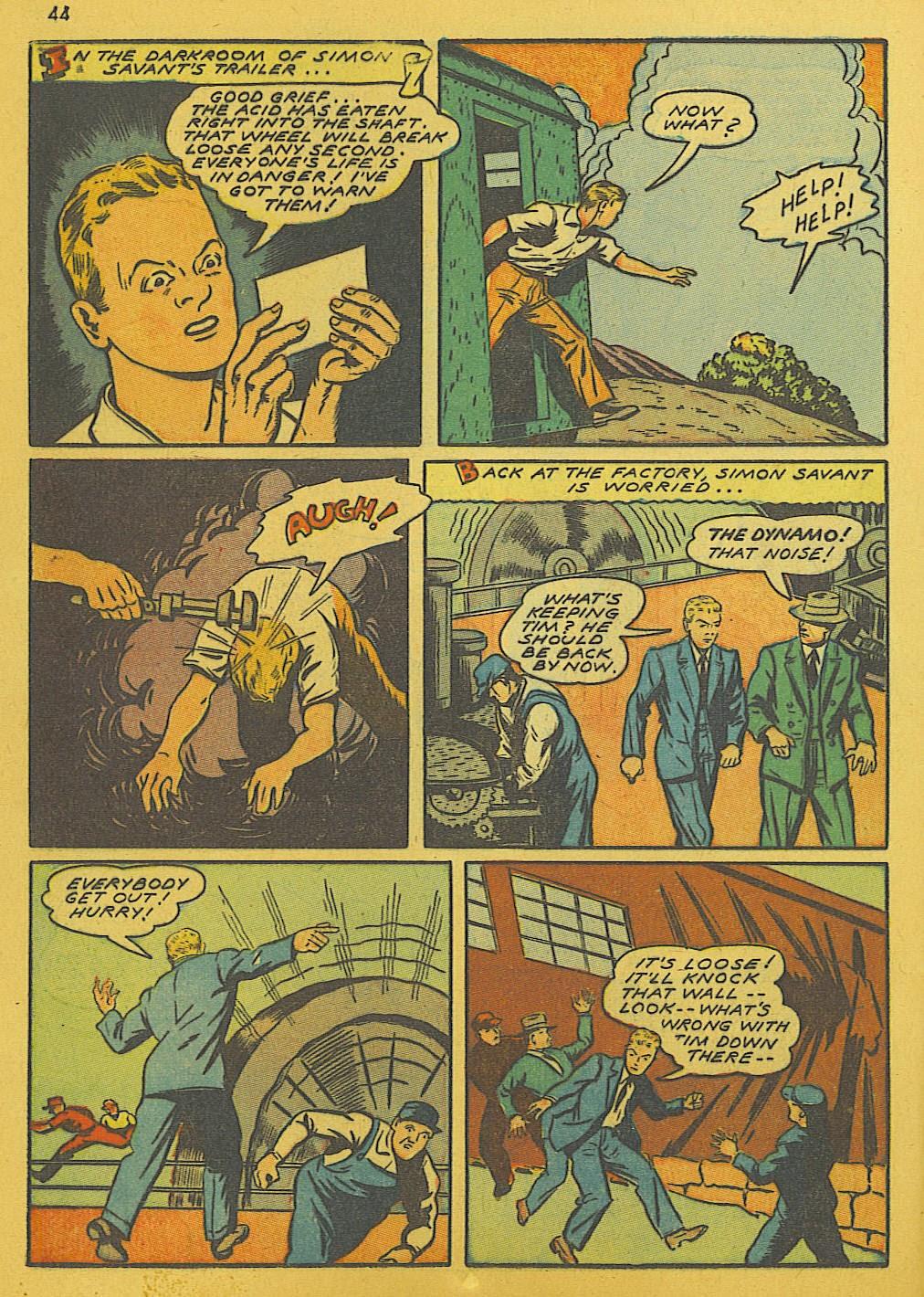 Read online Super-Magician Comics comic -  Issue #10 - 44