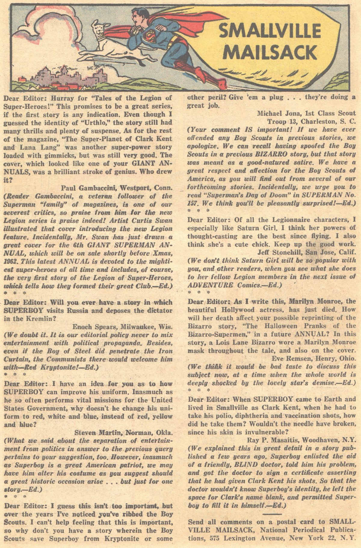 Read online Adventure Comics (1938) comic -  Issue #303 - 19
