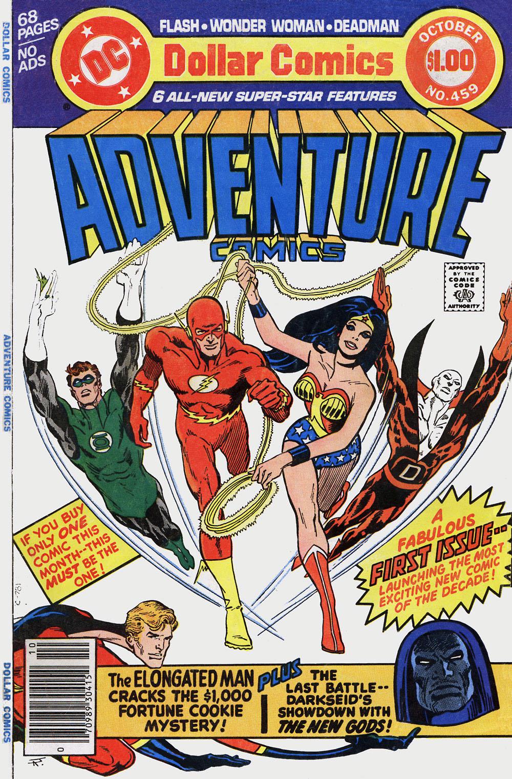 Read online Adventure Comics (1938) comic -  Issue #459 - 1