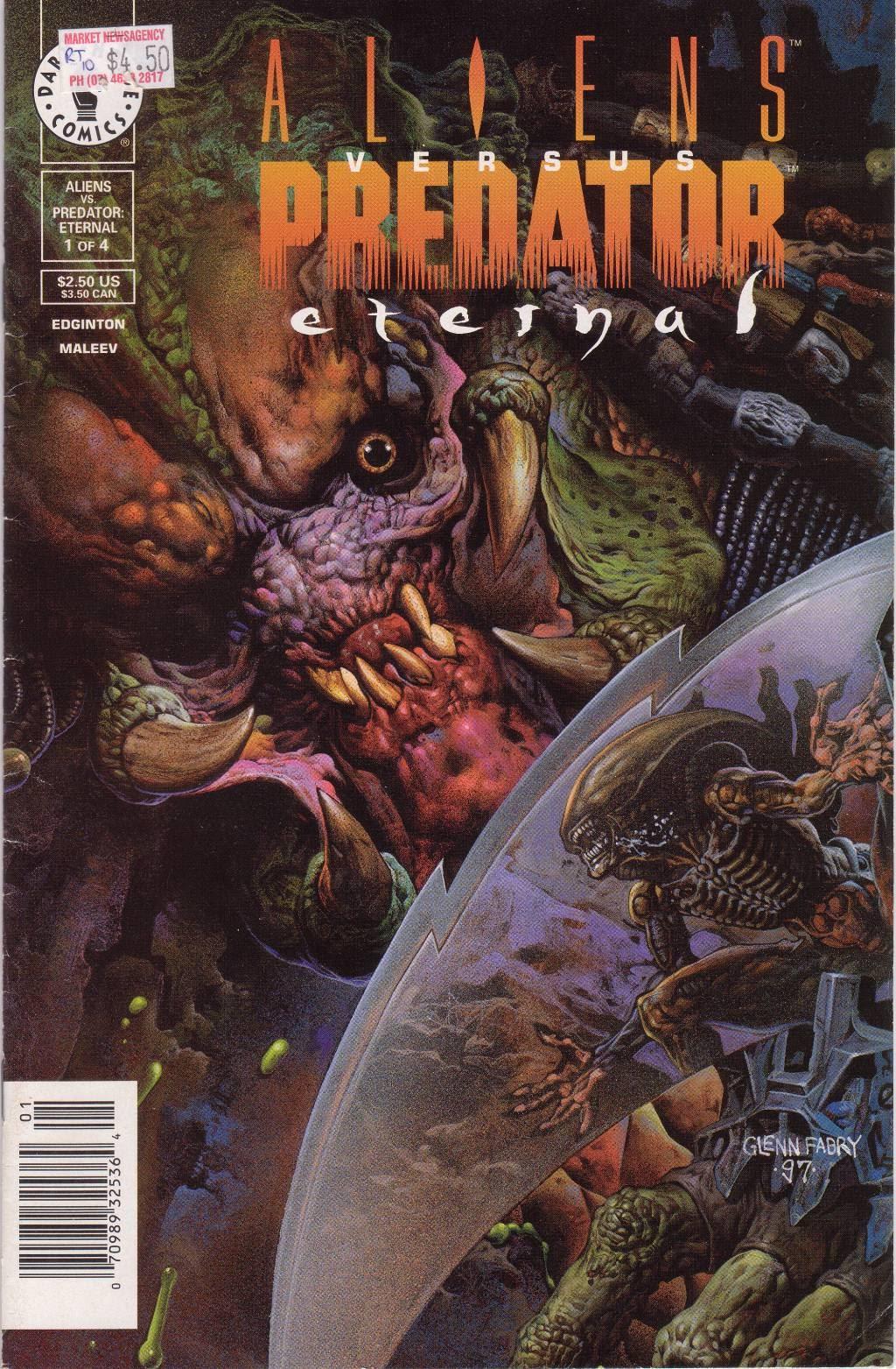 Aliens vs. Predator: Eternal issue 1 - Page 1