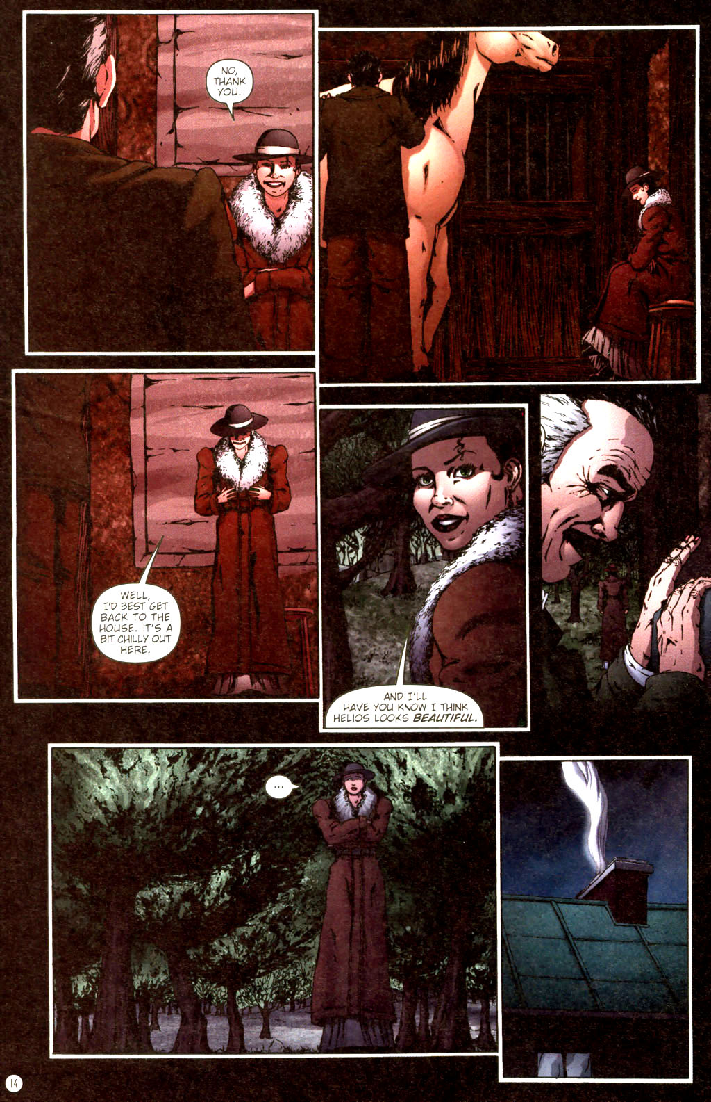 Read online Rex Mundi comic -  Issue #9 - 18