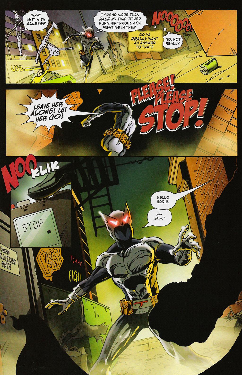 Read online ShadowHawk (2005) comic -  Issue #3 - 19