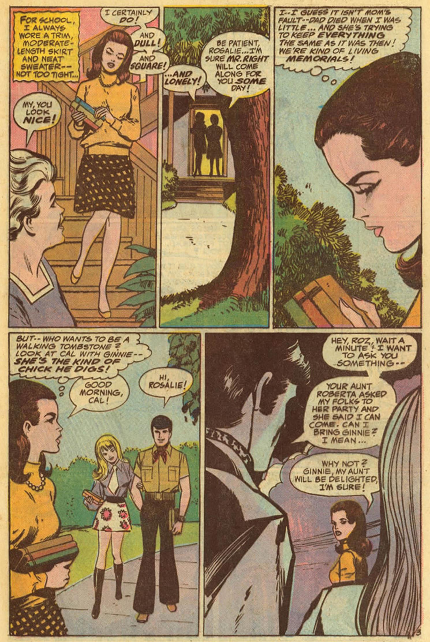Read online Secret Hearts comic -  Issue #139 - 5