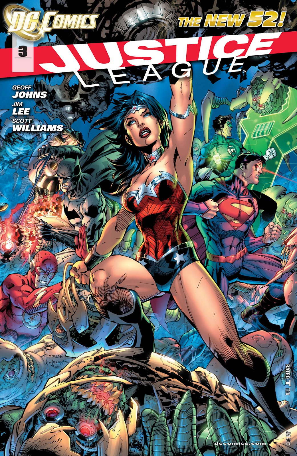 Justice League issue 03 - Page 1