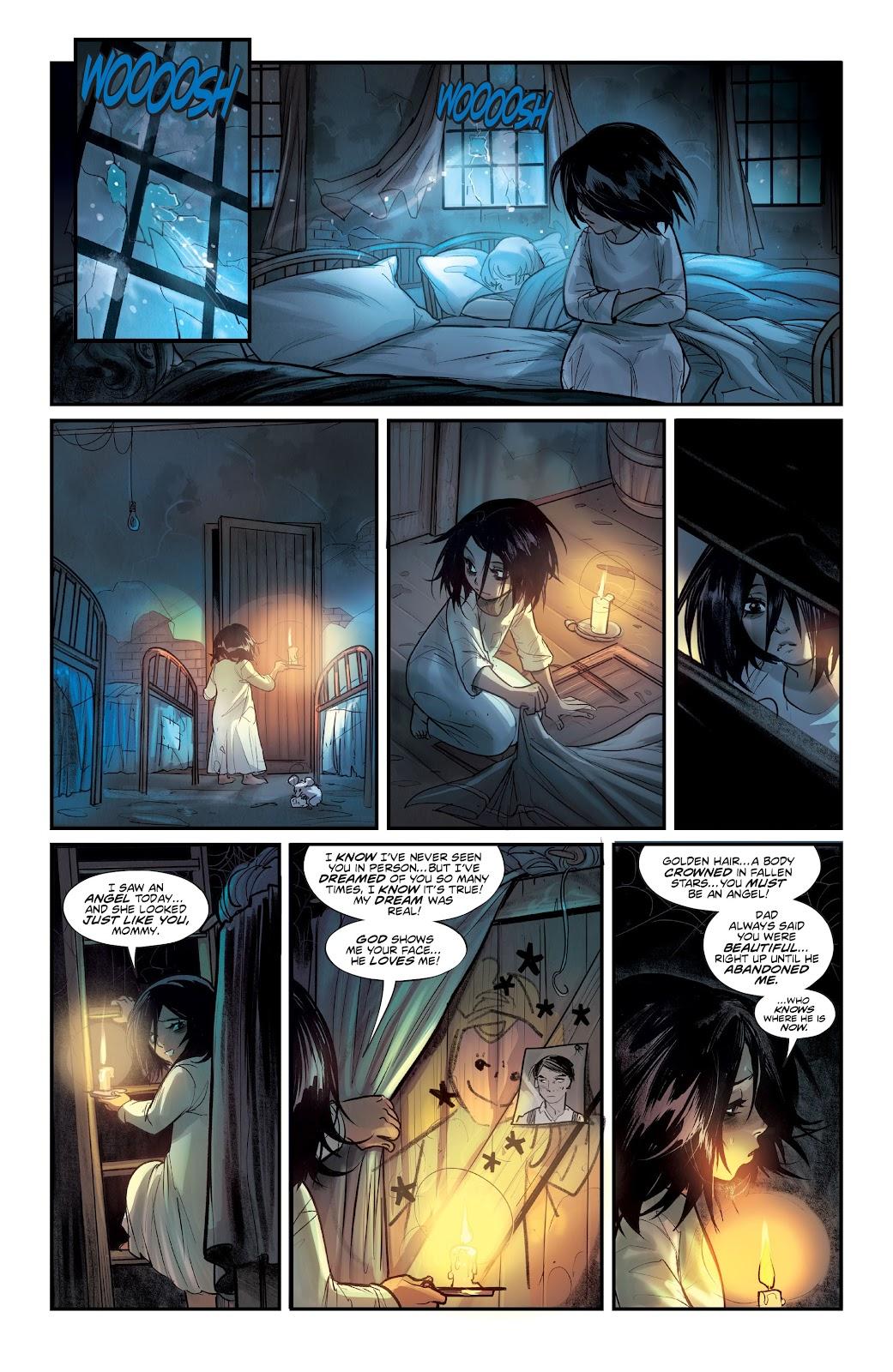 Read online Mirka Andolfo's Mercy comic -  Issue #1 - 17