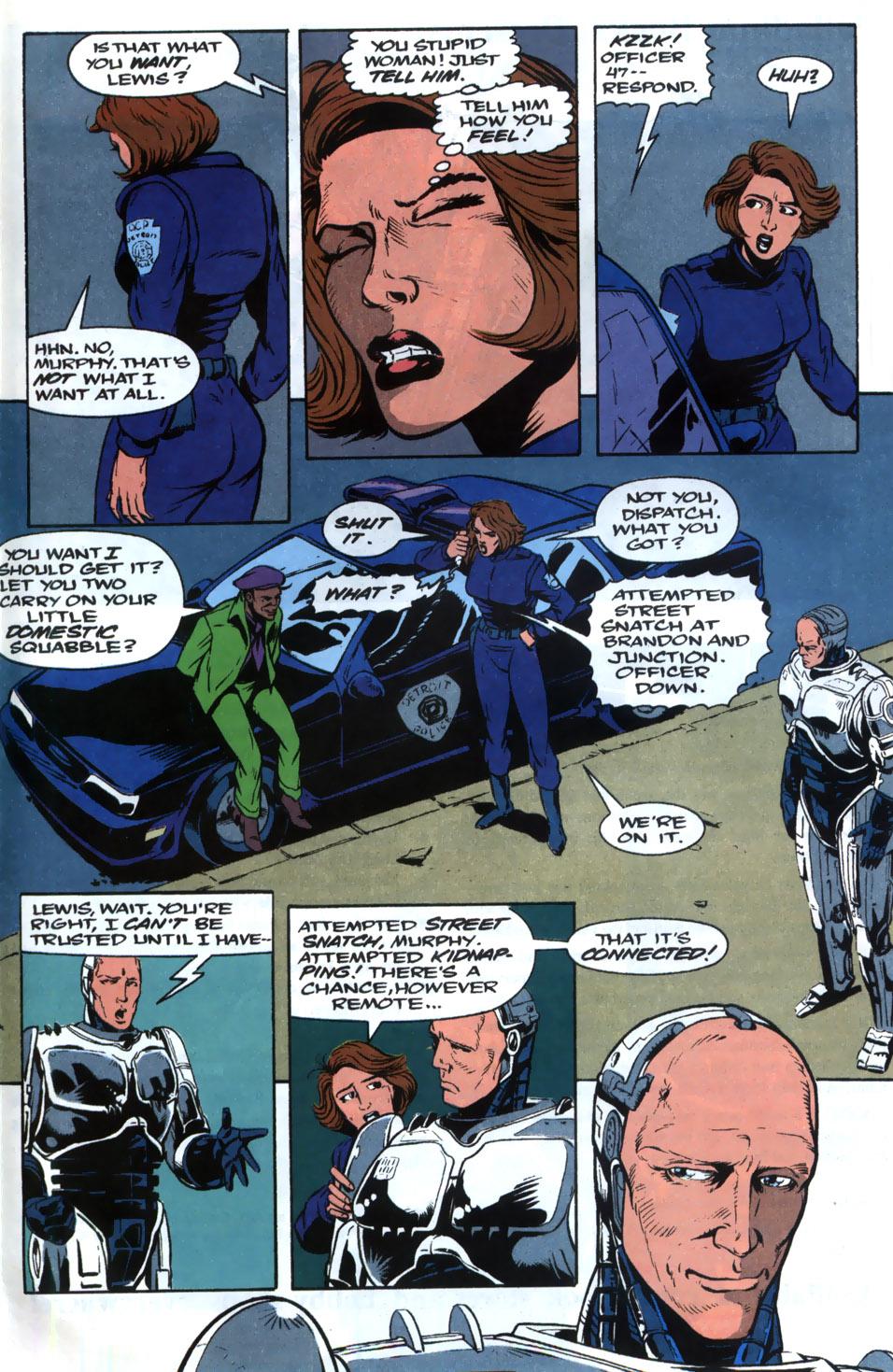 Read online Robocop (1990) comic -  Issue #20 - 12