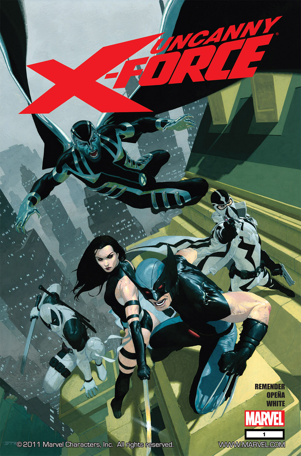 Read online Uncanny X-Force (2010) comic -  Issue #1 - 1