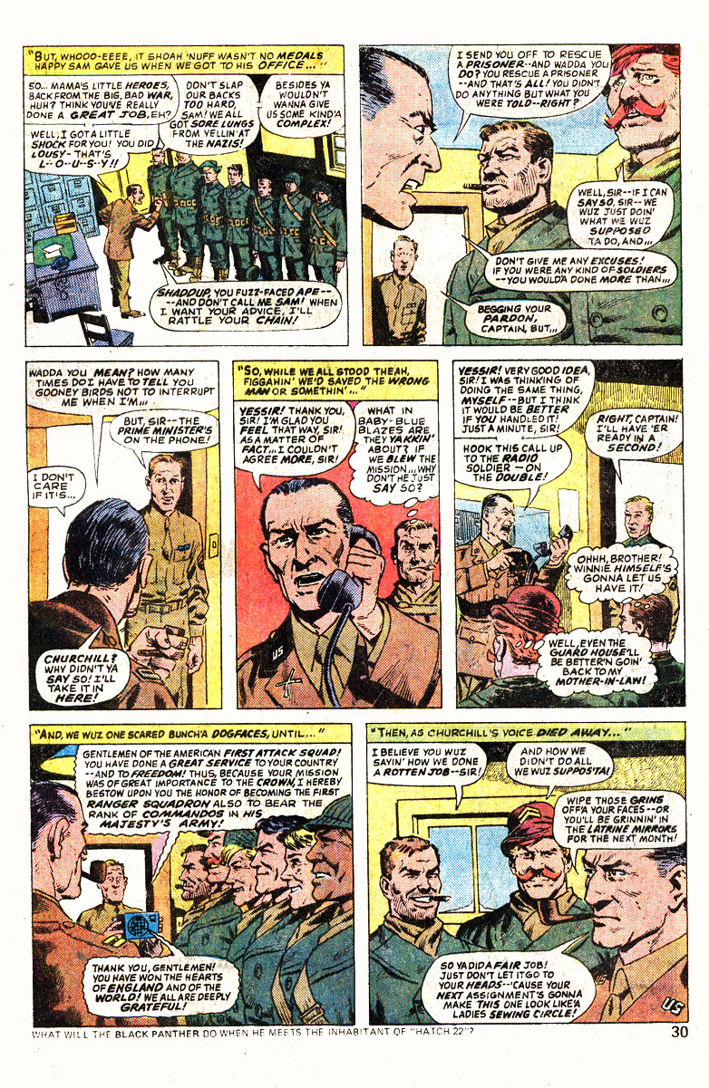 Read online Sgt. Fury comic -  Issue #139 - 32
