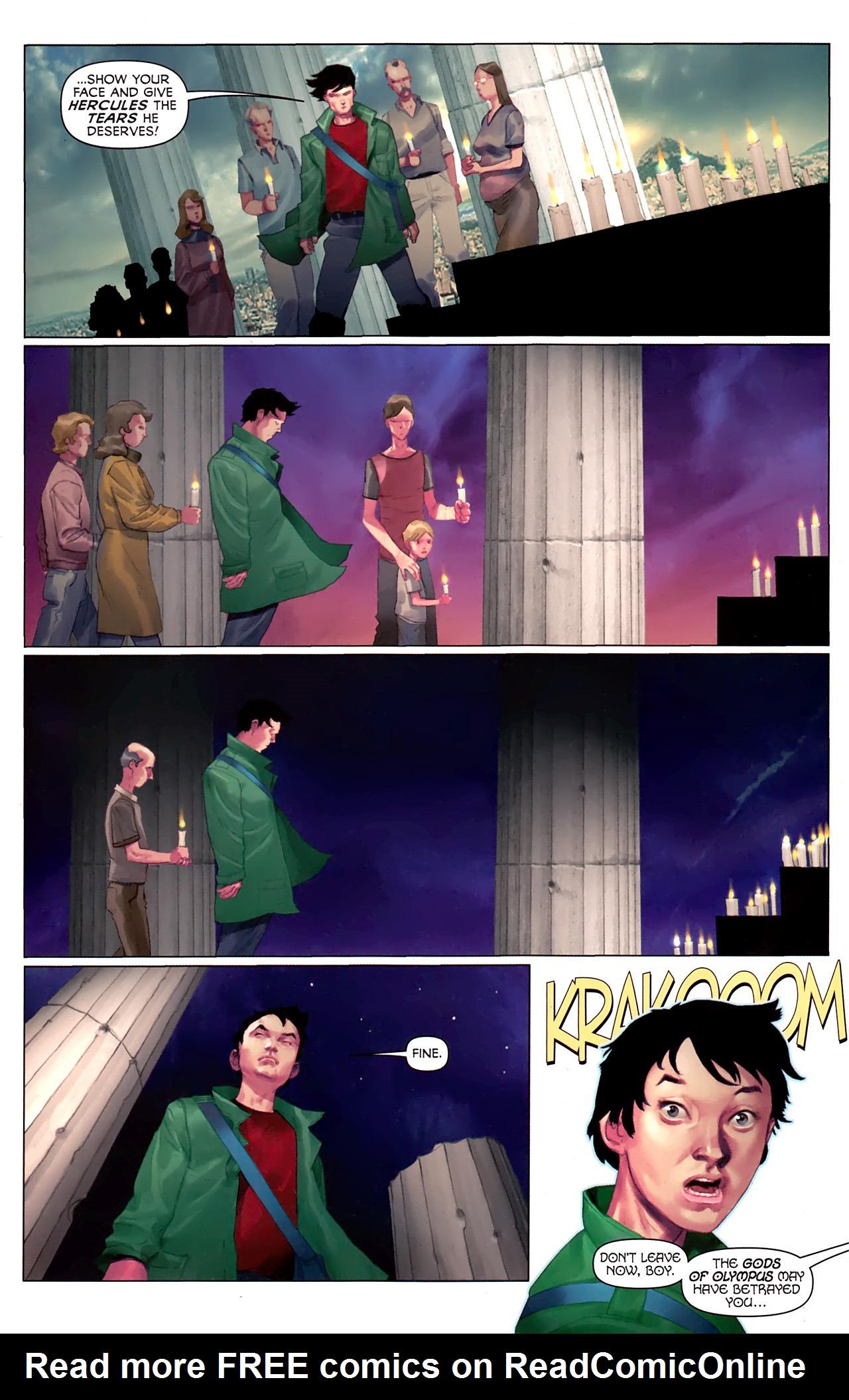 Read online Hercules: Fall of an Avenger comic -  Issue #1 - 5