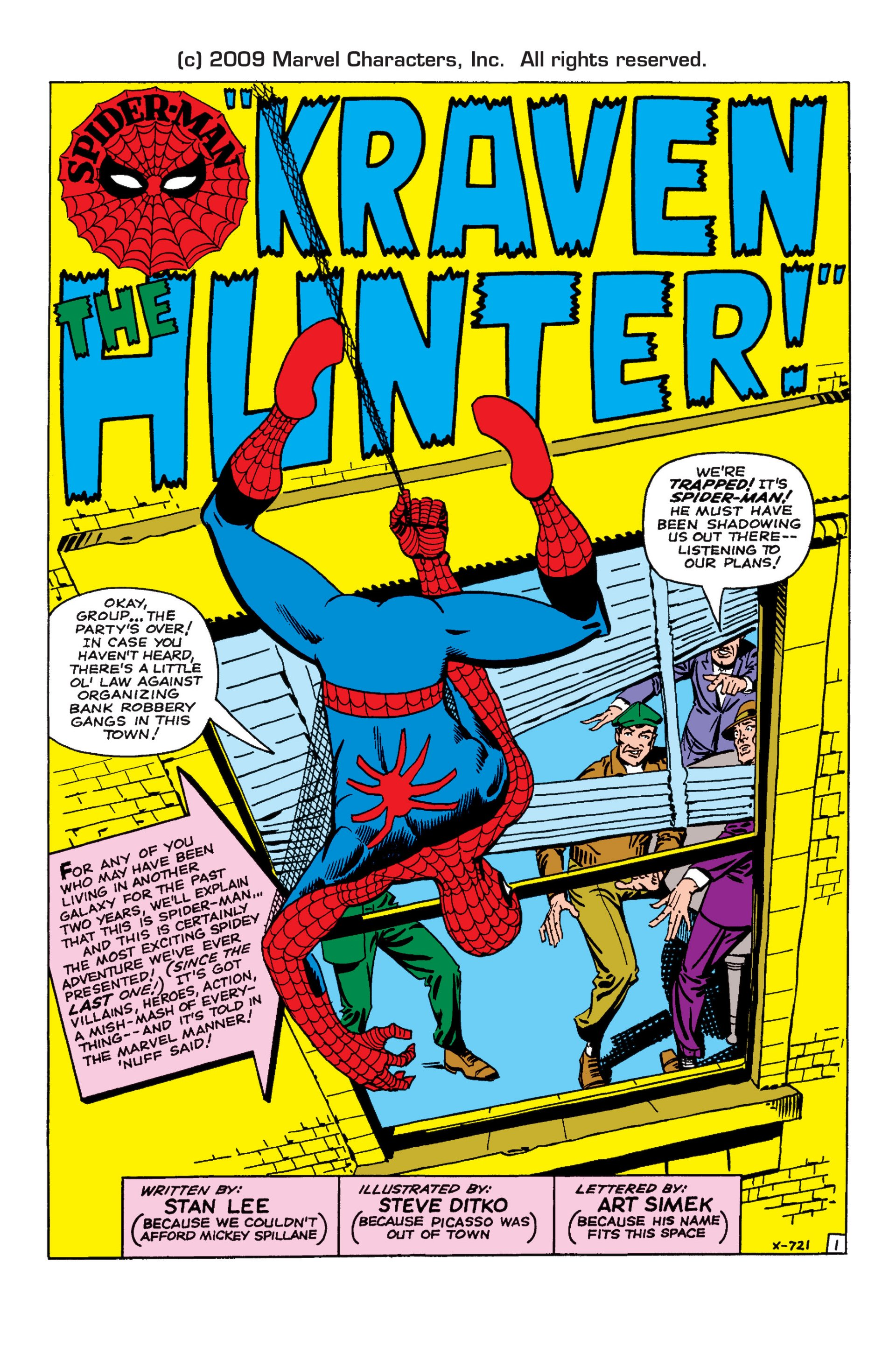 The Amazing Spider-Man (1963) 15 Page 1