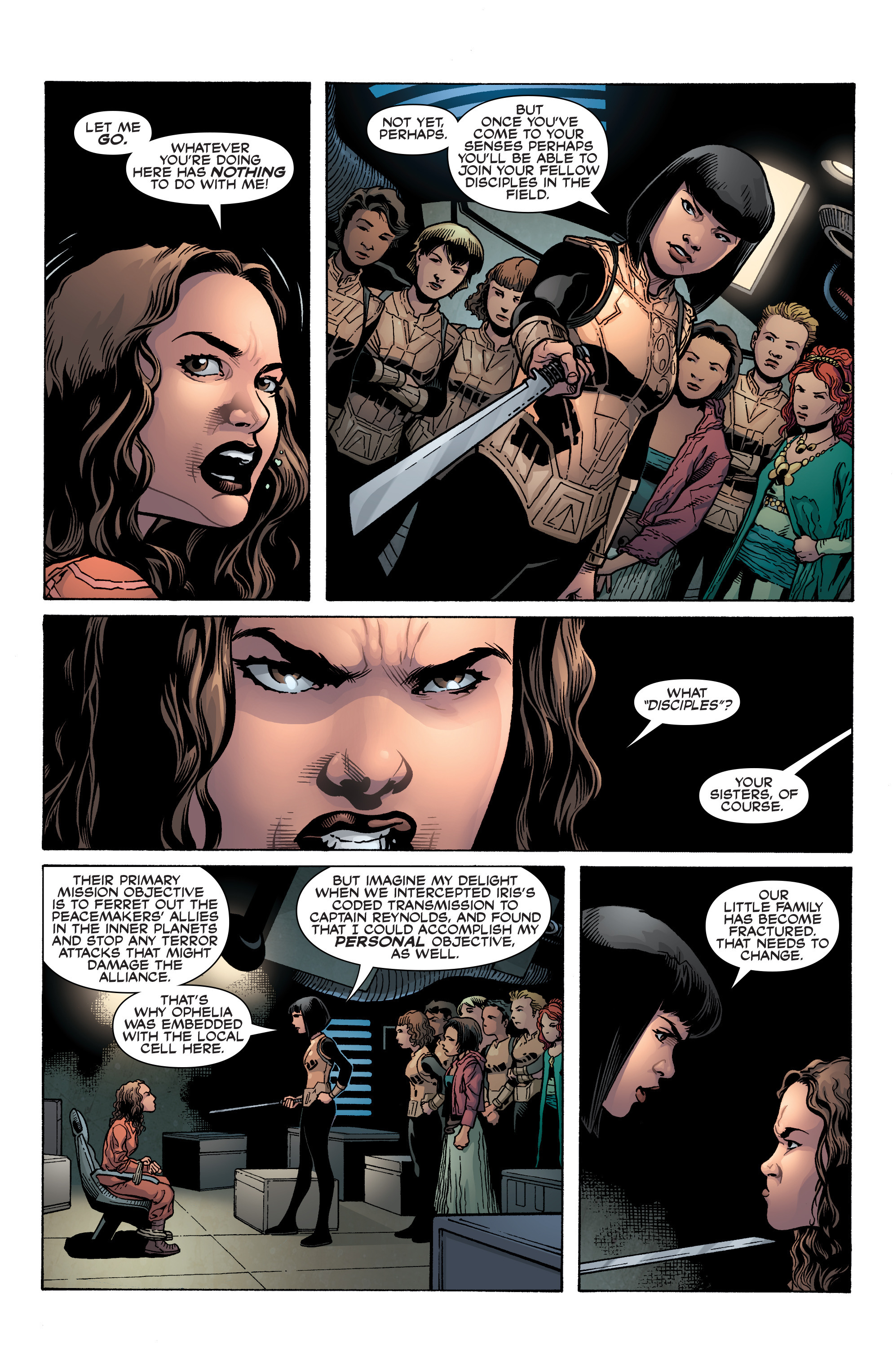 Read online Serenity: Firefly Class 03-K64 – No Power in the 'Verse comic -  Issue #3 - 7