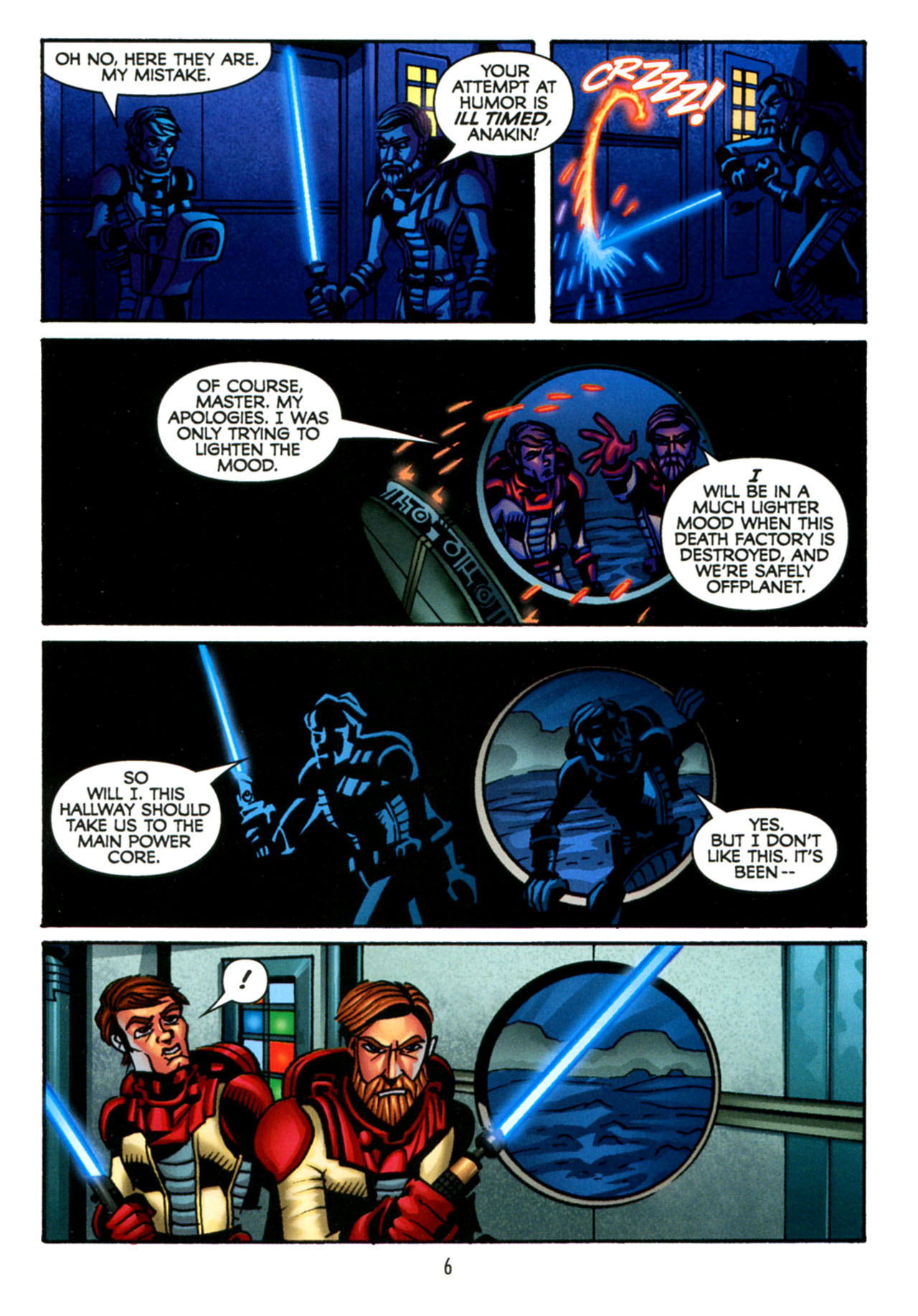 Read online Star Wars: The Clone Wars - The Starcrusher Trap comic -  Issue # Full - 7