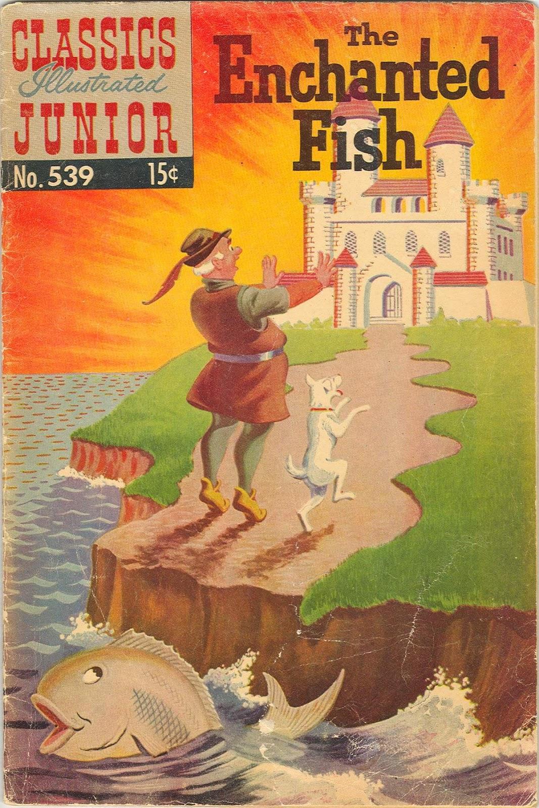 Classics Illustrated Junior 539 Page 1