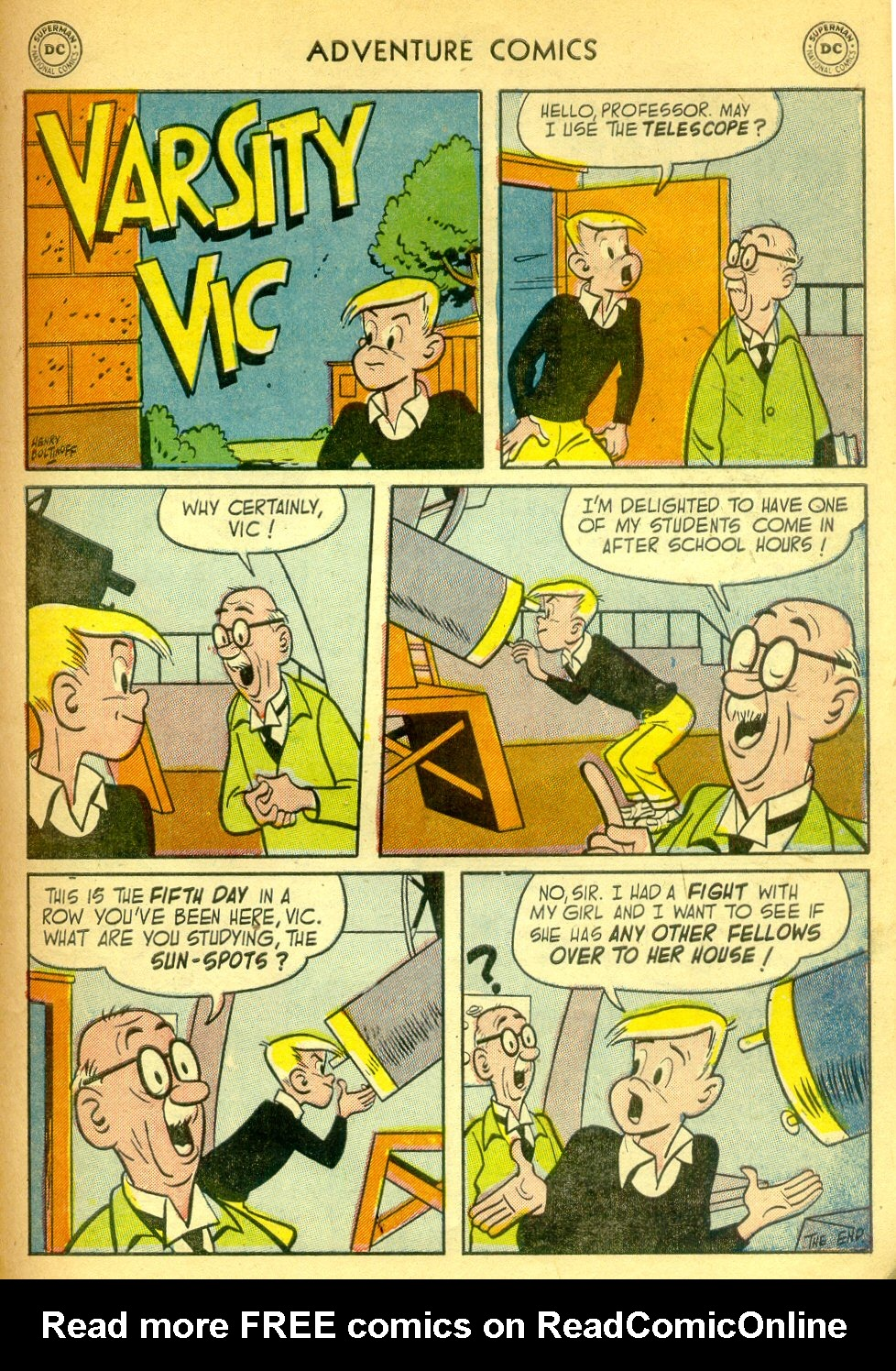 Read online Adventure Comics (1938) comic -  Issue #181 - 32