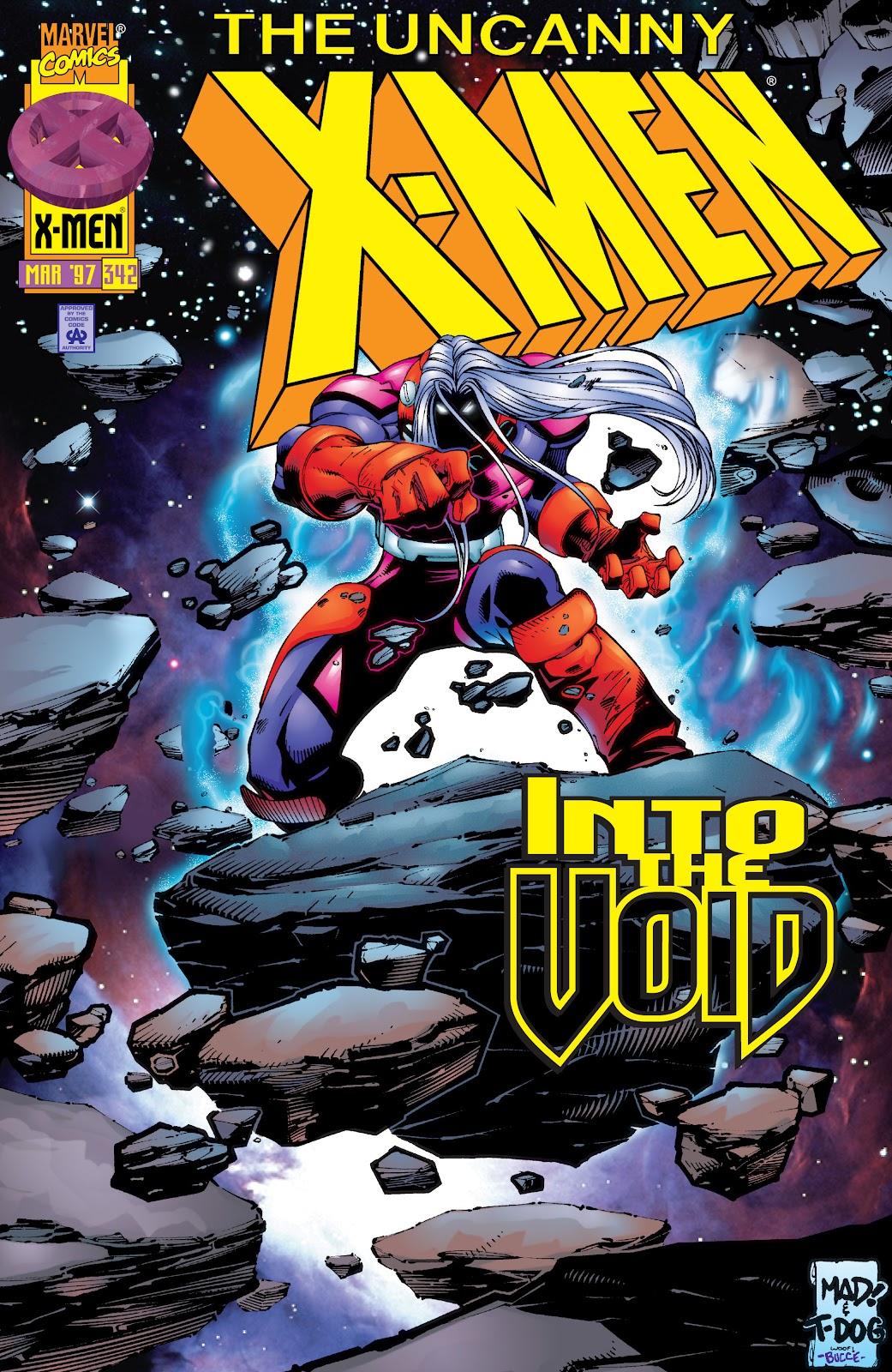 Uncanny X-Men (1963) issue 342 - Page 1