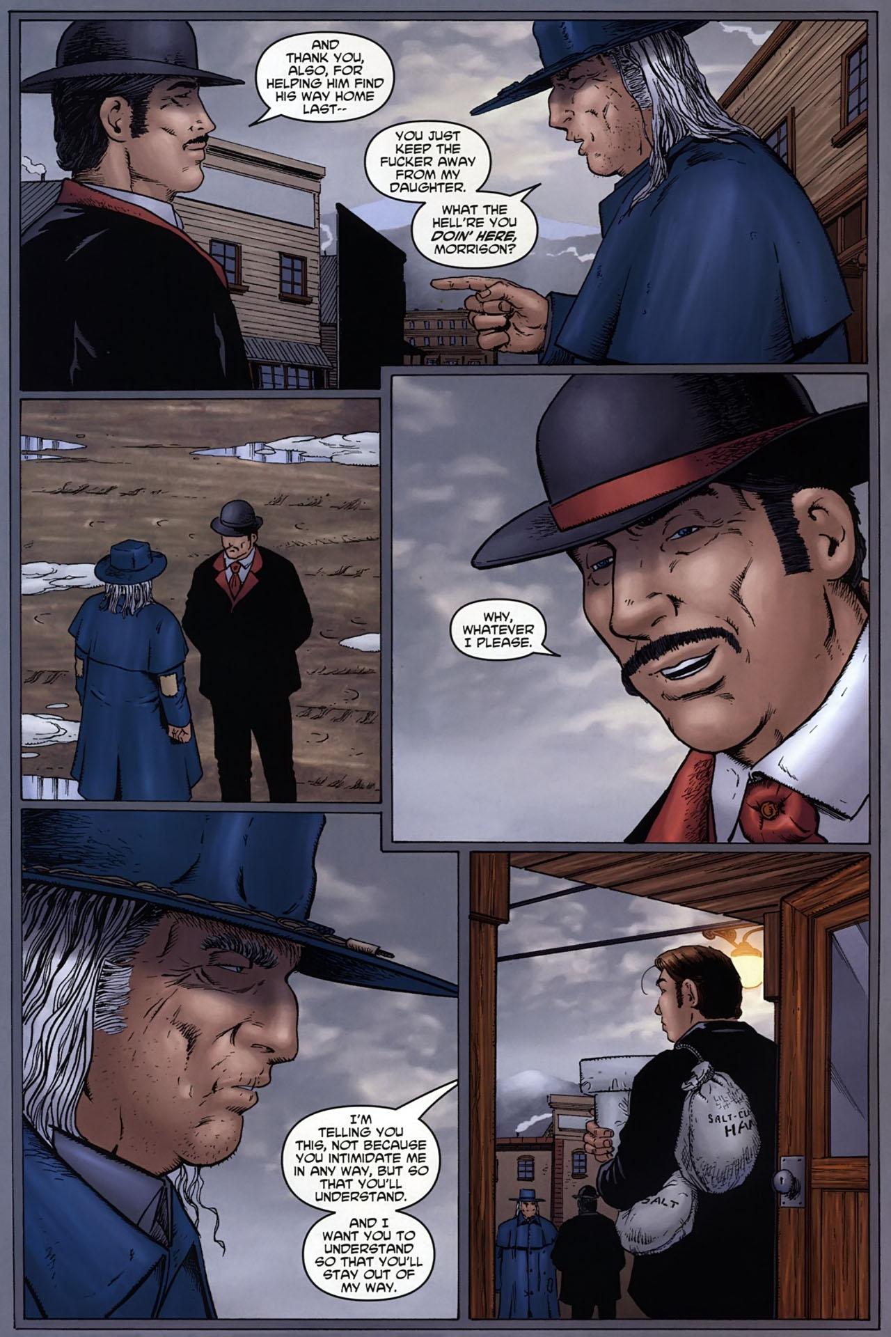 Read online Garth Ennis' Streets of Glory comic -  Issue #6 - 6
