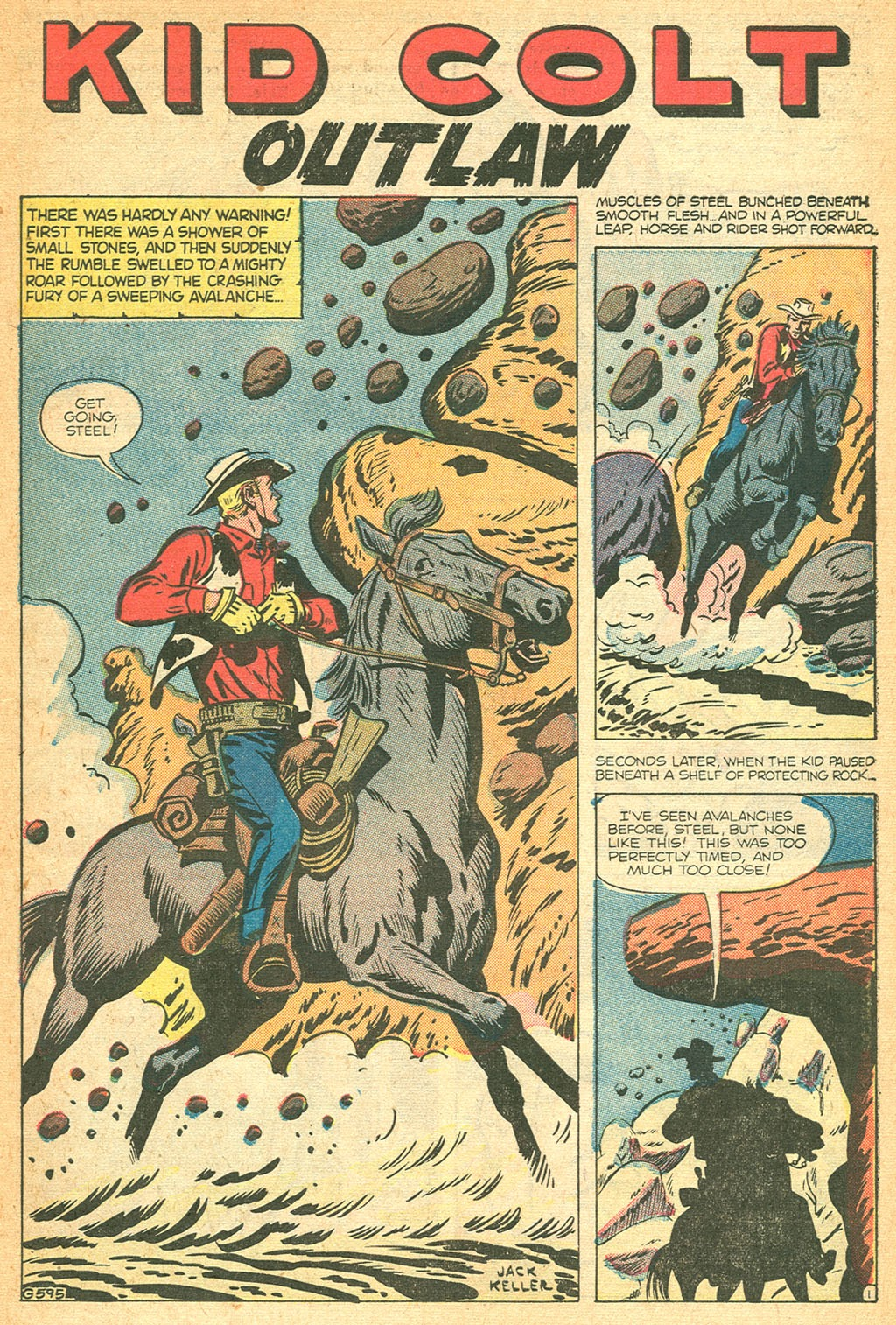 Kid Colt Outlaw issue 53 - Page 27
