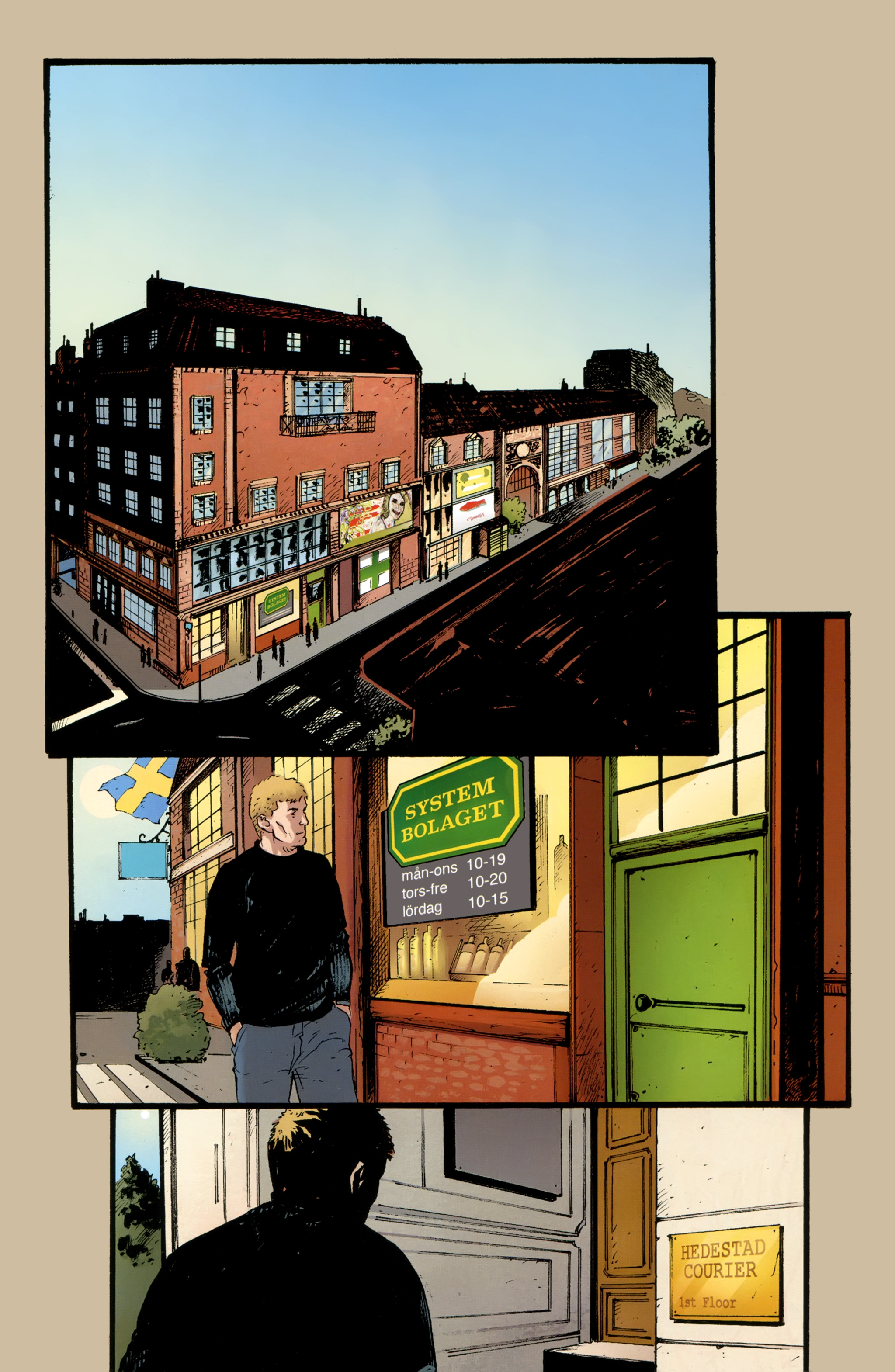 Read online The Girl With the Dragon Tattoo comic -  Issue # TPB 2 - 26