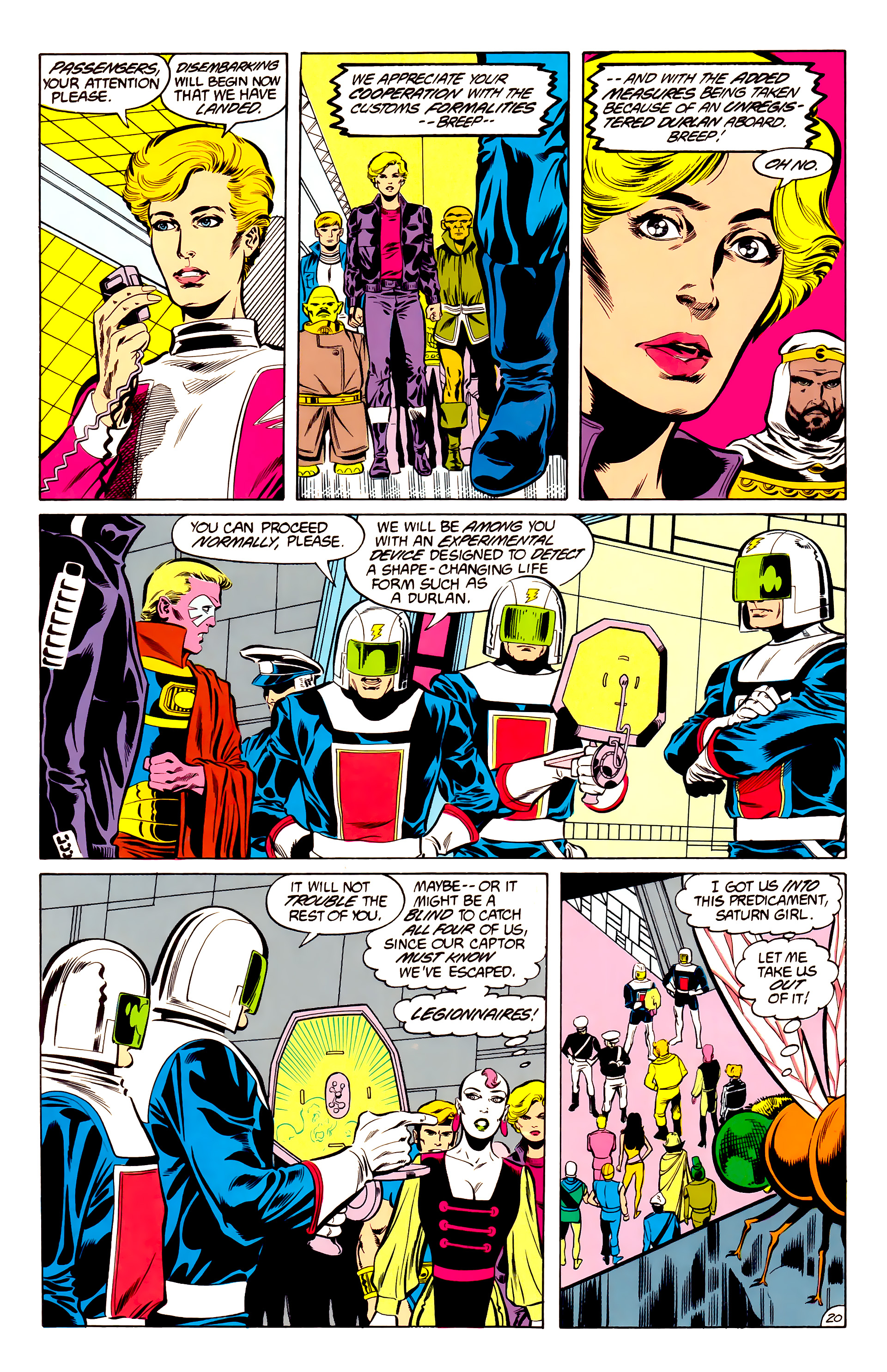 Legion of Super-Heroes (1984) 34 Page 20