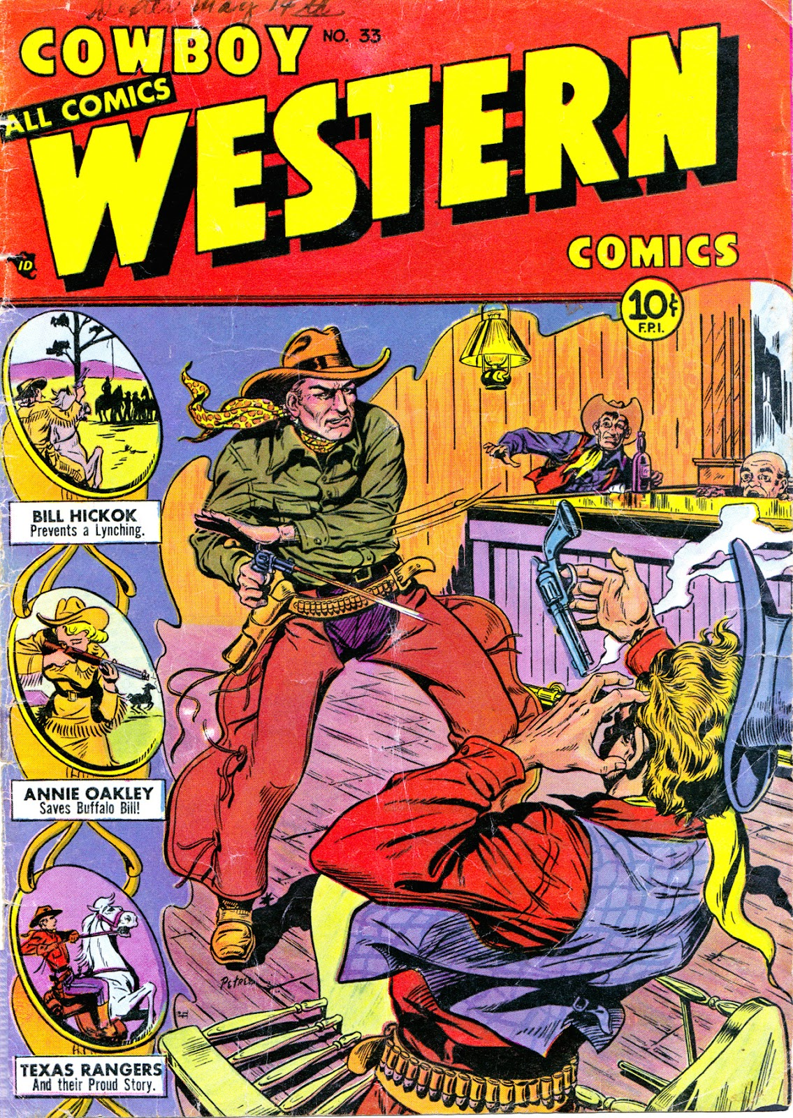 Cowboy Western Comics (1948) issue 33 - Page 1