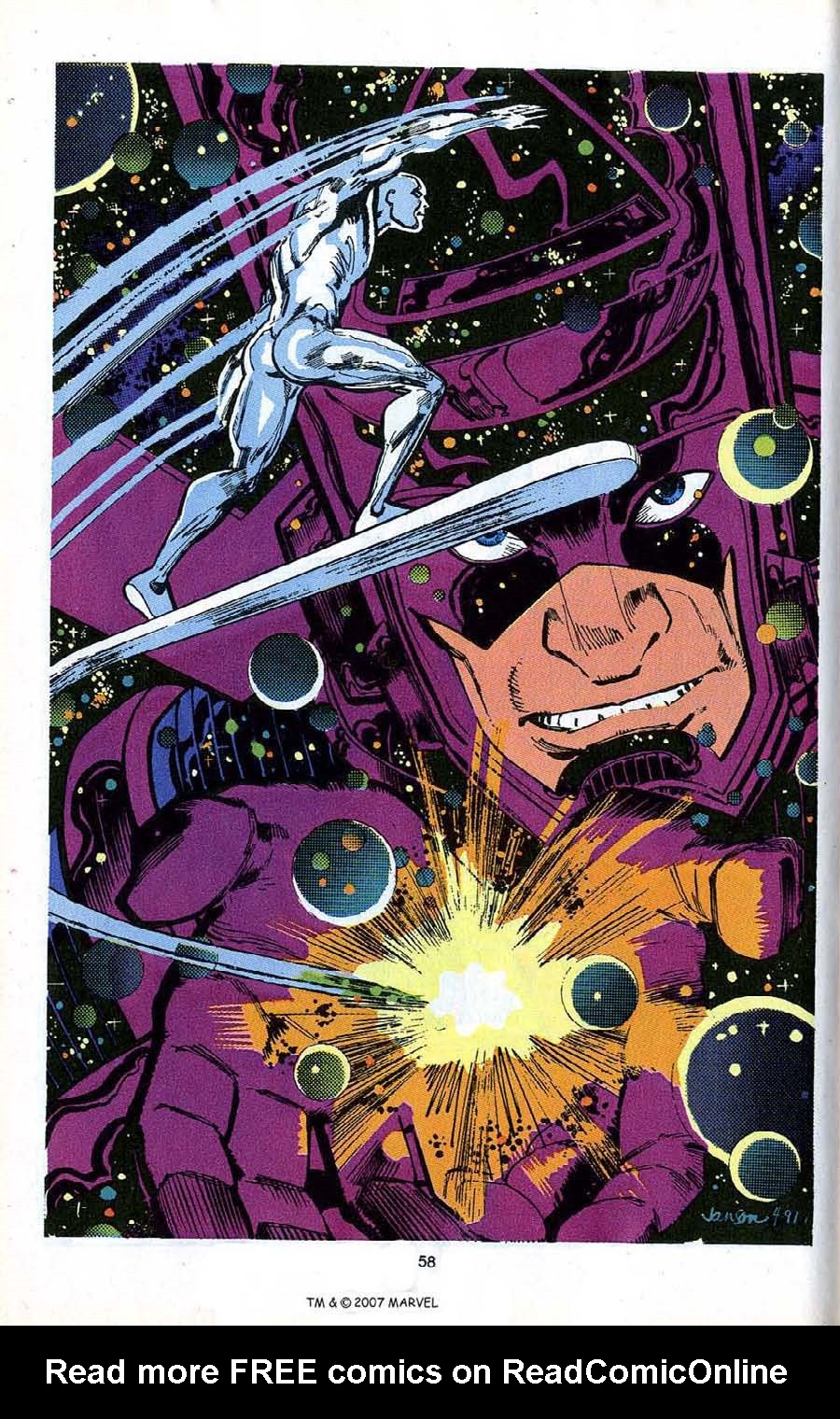 Read online Silver Surfer (1987) comic -  Issue # _Annual 4 - 60