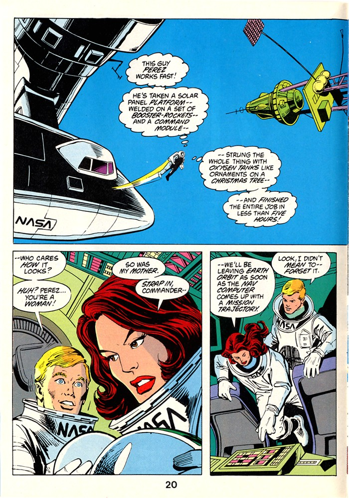 Read online Atari Force (1982) comic -  Issue #1 - 22